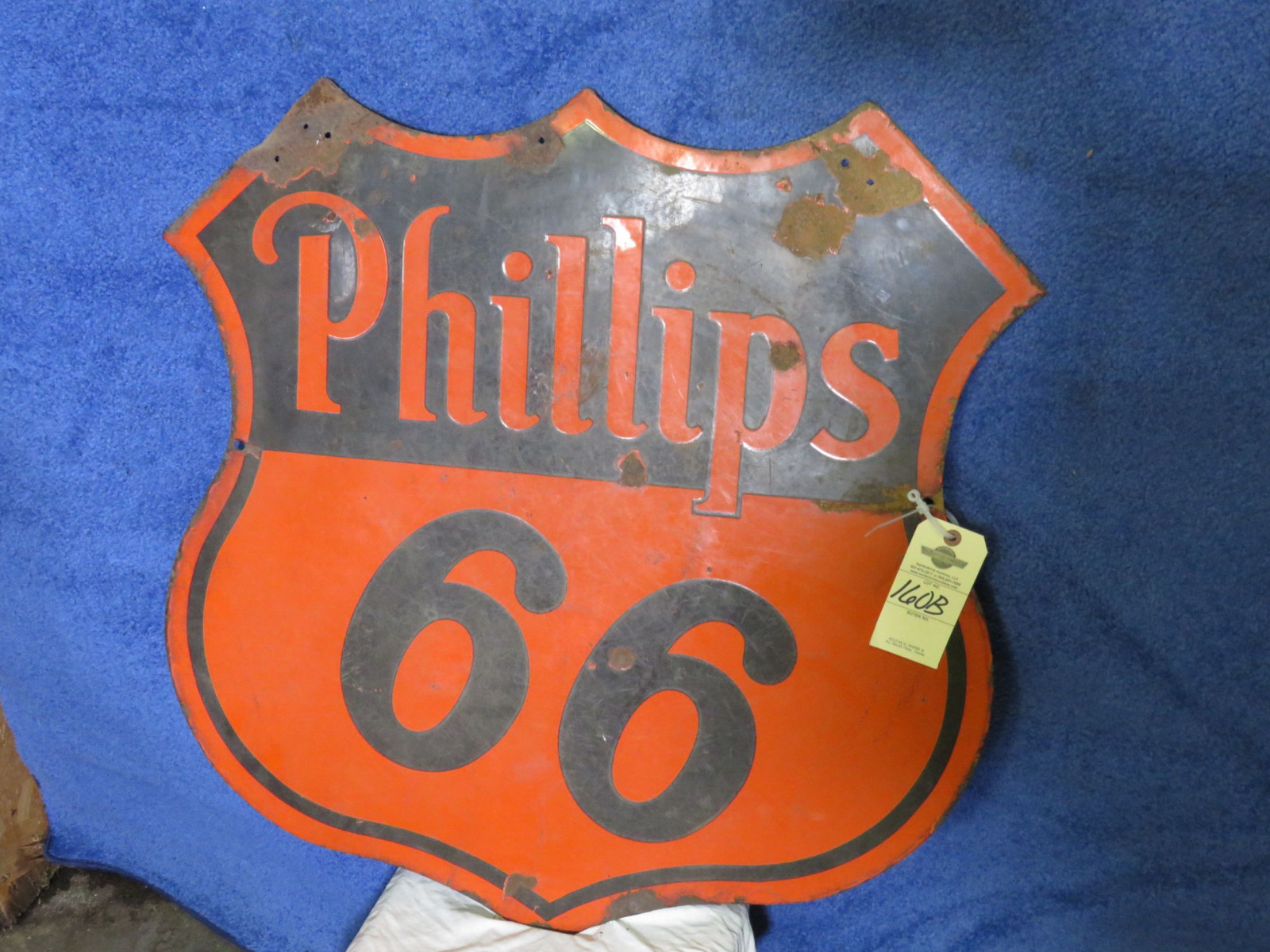 Phillips 66 DS Porcelain Sign - Image 1