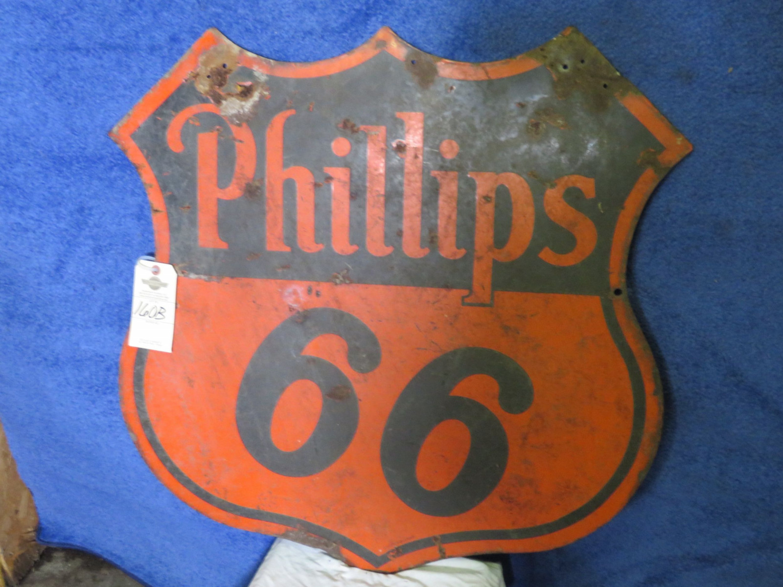 Phillips 66 DS Porcelain Sign - Image 2