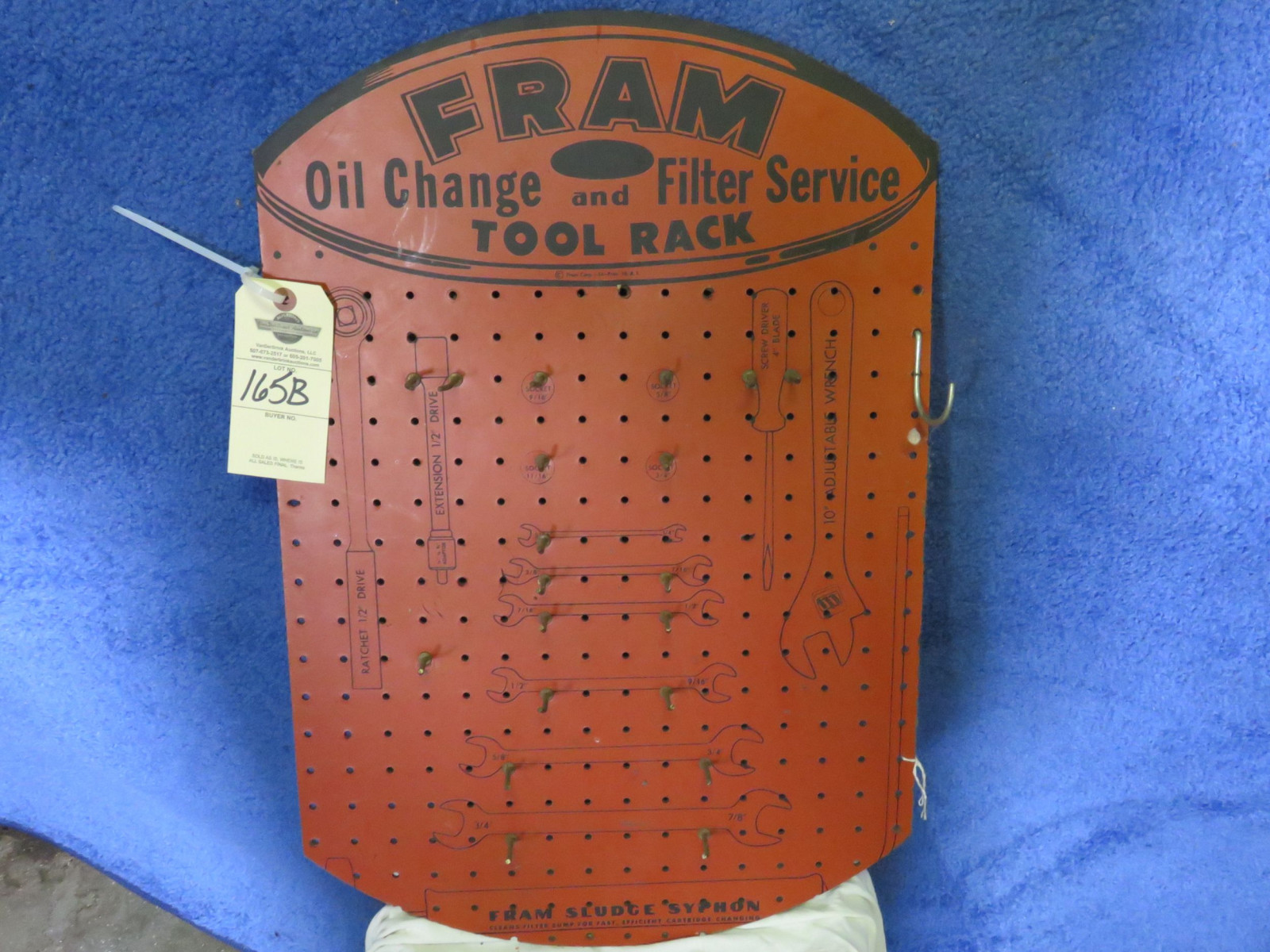 Fram Oil Filters Pressed Board Display - Image 1