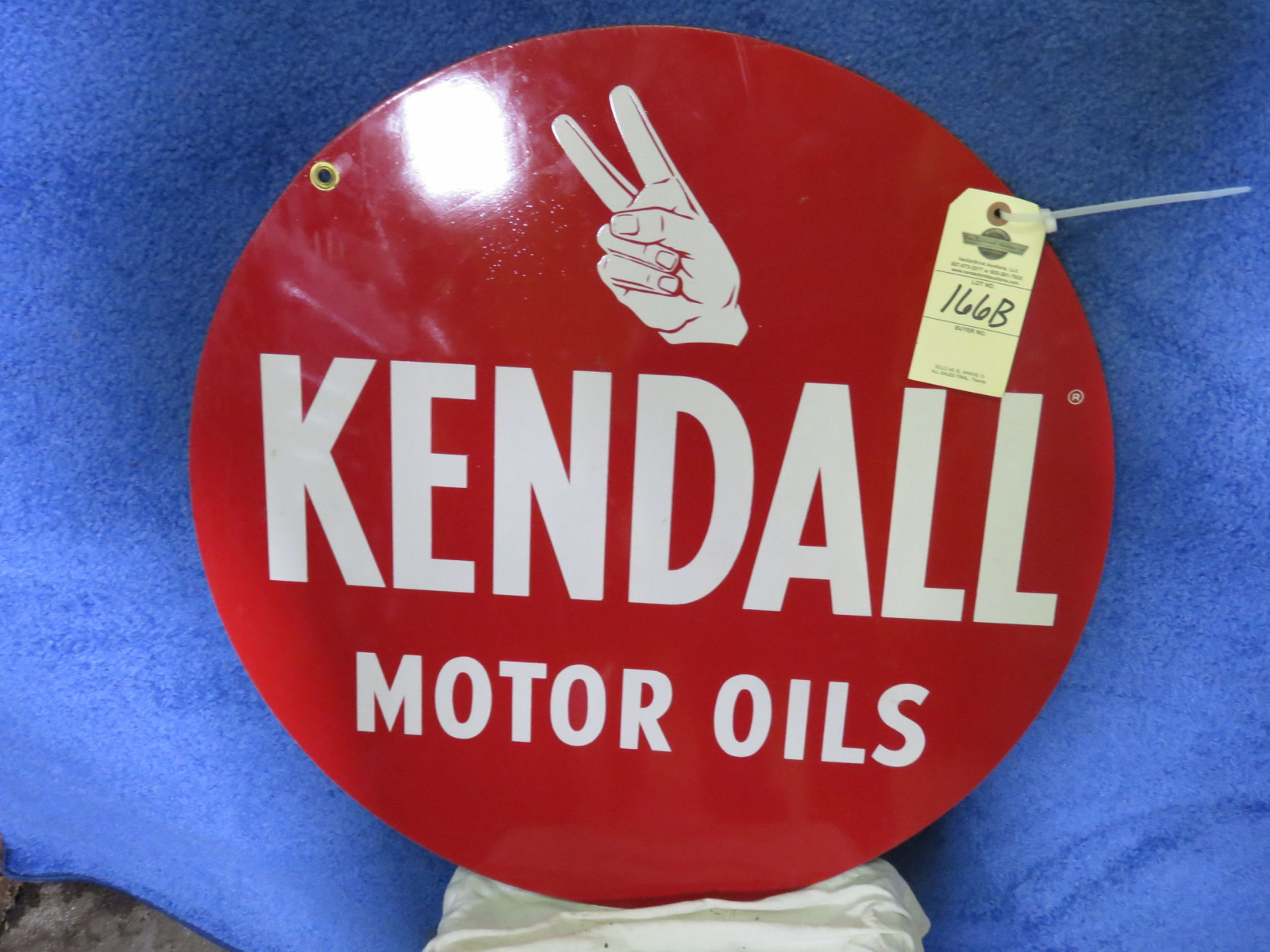 Kendall DS Painted Tin Sign - Image 1