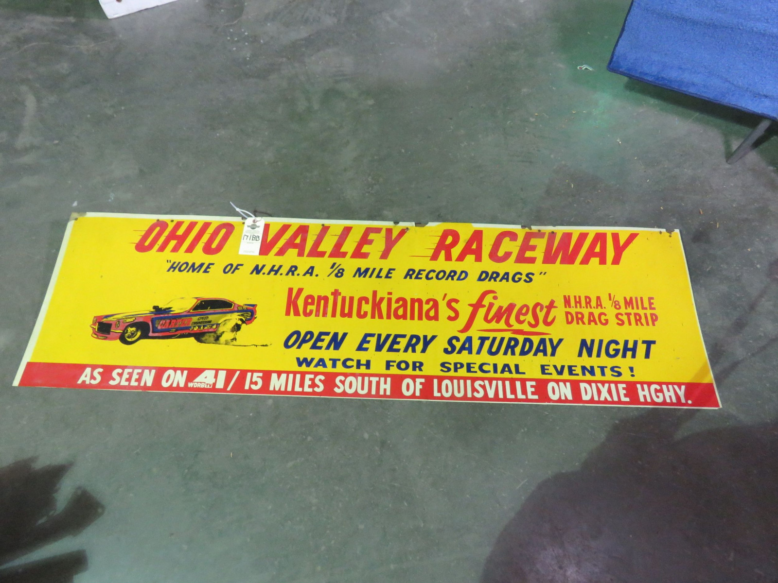 Ohio Valley RcewaysOriginal Sign - Image 1