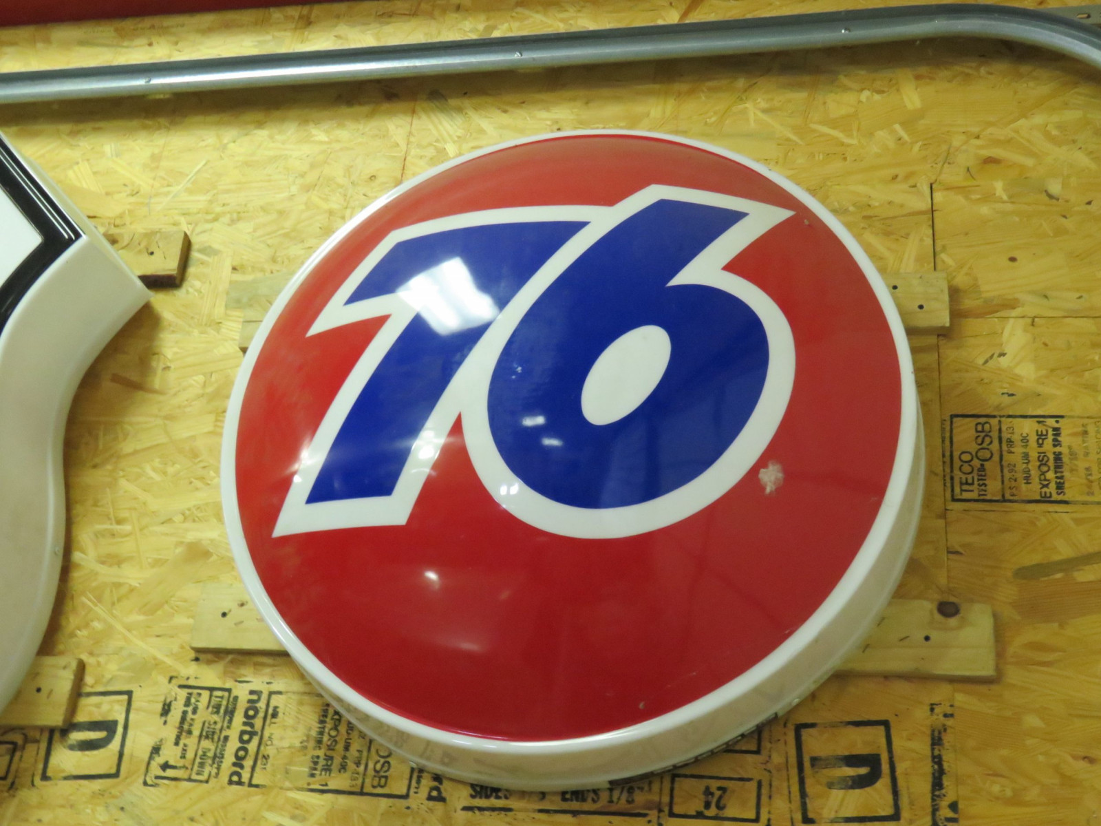 Phillips 76 SS Plastic Sign - Image 1