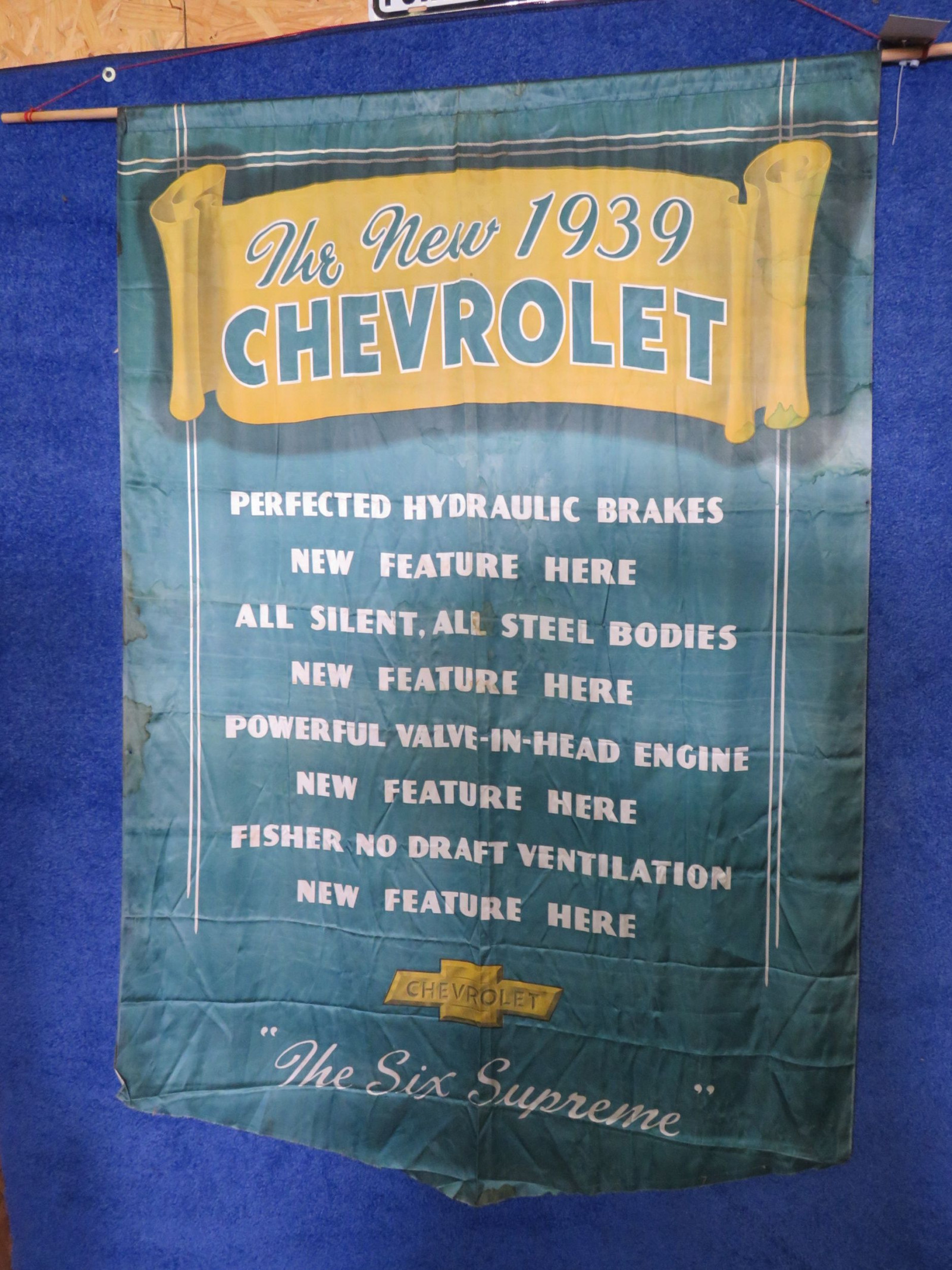 1939 Chevrolet SS Satin Wall Model Banner - Image 1