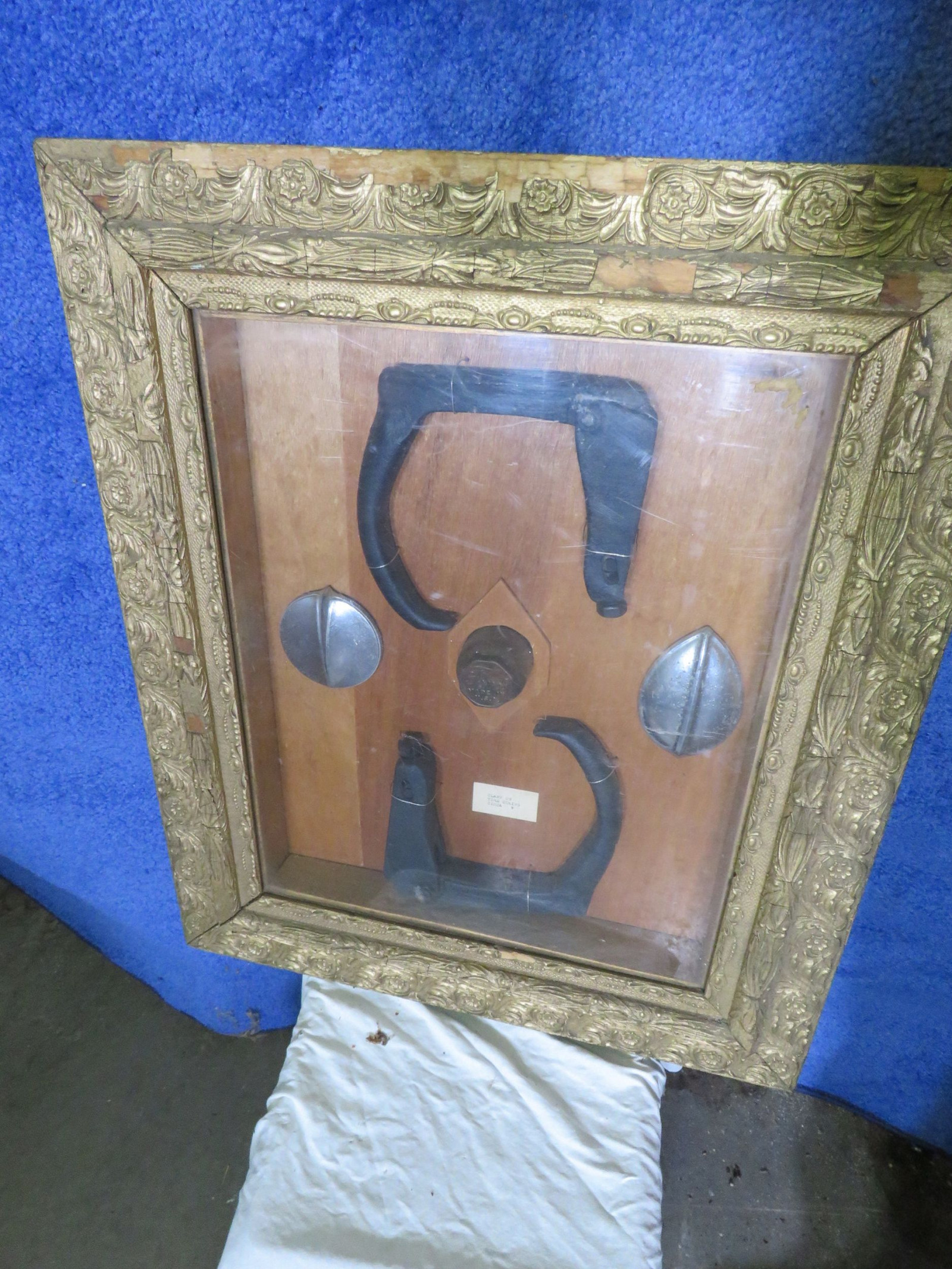 Framed Vintage Chain Kit - Image 1