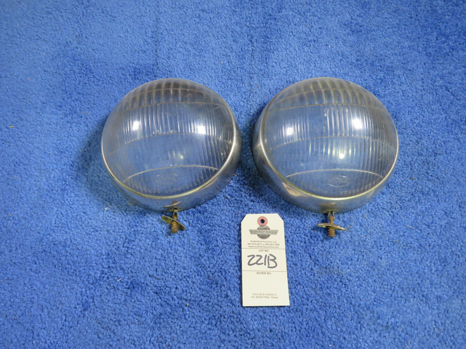 1935-6 Ford Lamps - Image 1