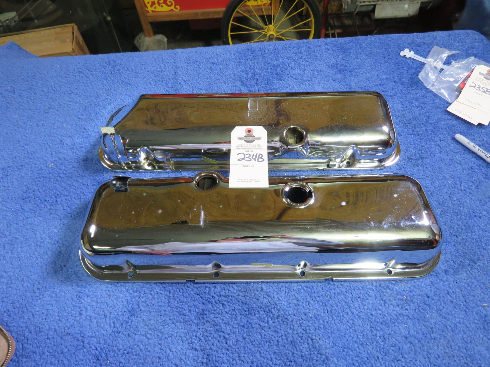 Chevrolet Big block Valve Covers with Drip Rails - Image 2