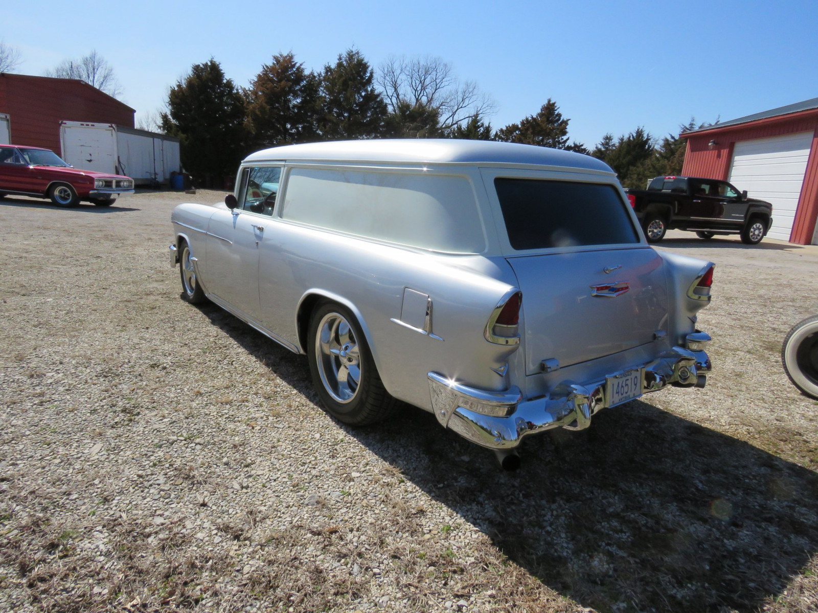 1955 Chevrolet Sedan Delivery Custom - Image 7