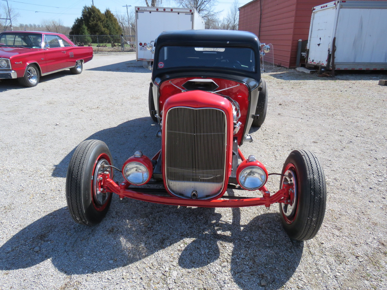 1929 Ford 23dr Sedan Custom Hot Rod - Image 2