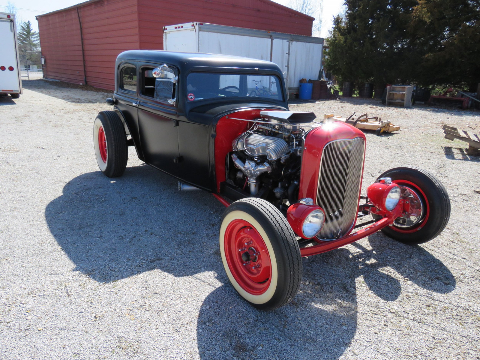 1929 Ford 23dr Sedan Custom Hot Rod - Image 3
