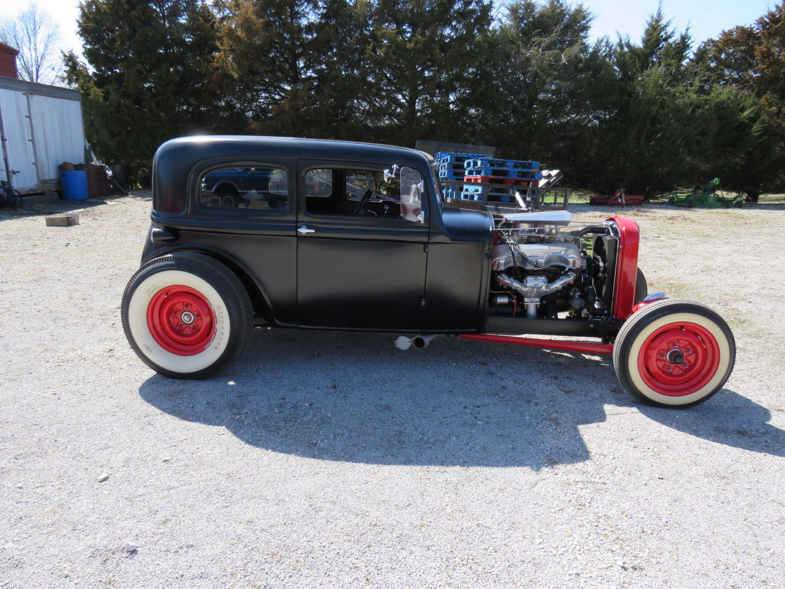 1929 Ford 23dr Sedan Custom Hot Rod - Image 4