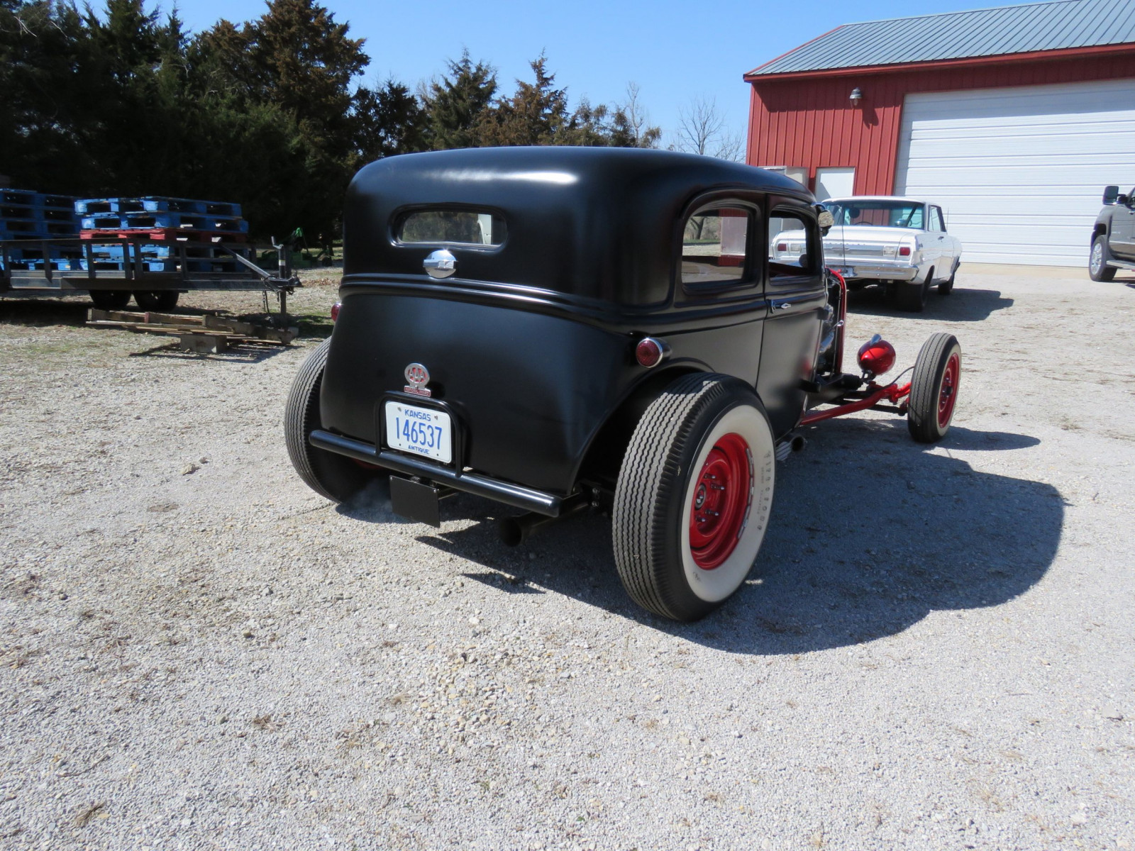 1929 Ford 23dr Sedan Custom Hot Rod - Image 6