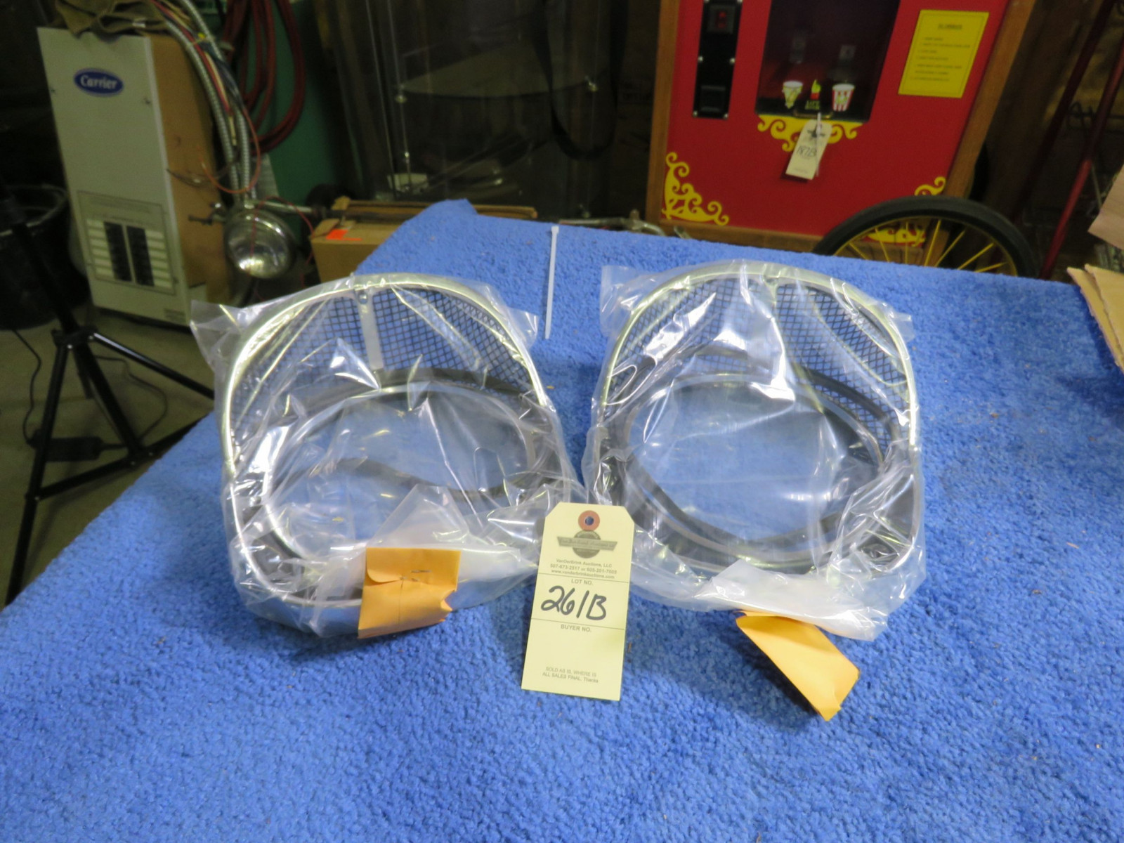 Reproduction 1957 Chevrolet Headlight Bezels - Image 1