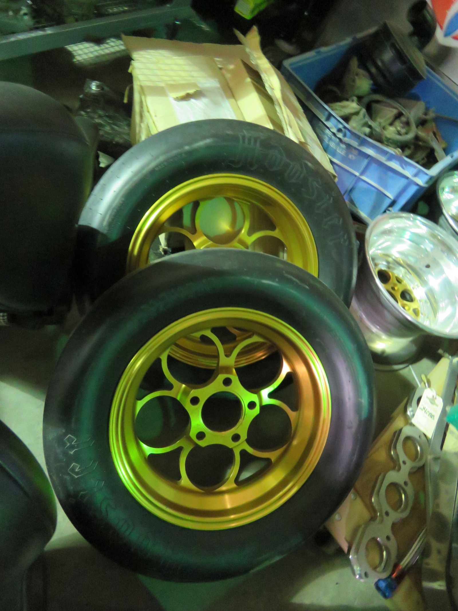 Set of Weld Gold Rims - Image 1