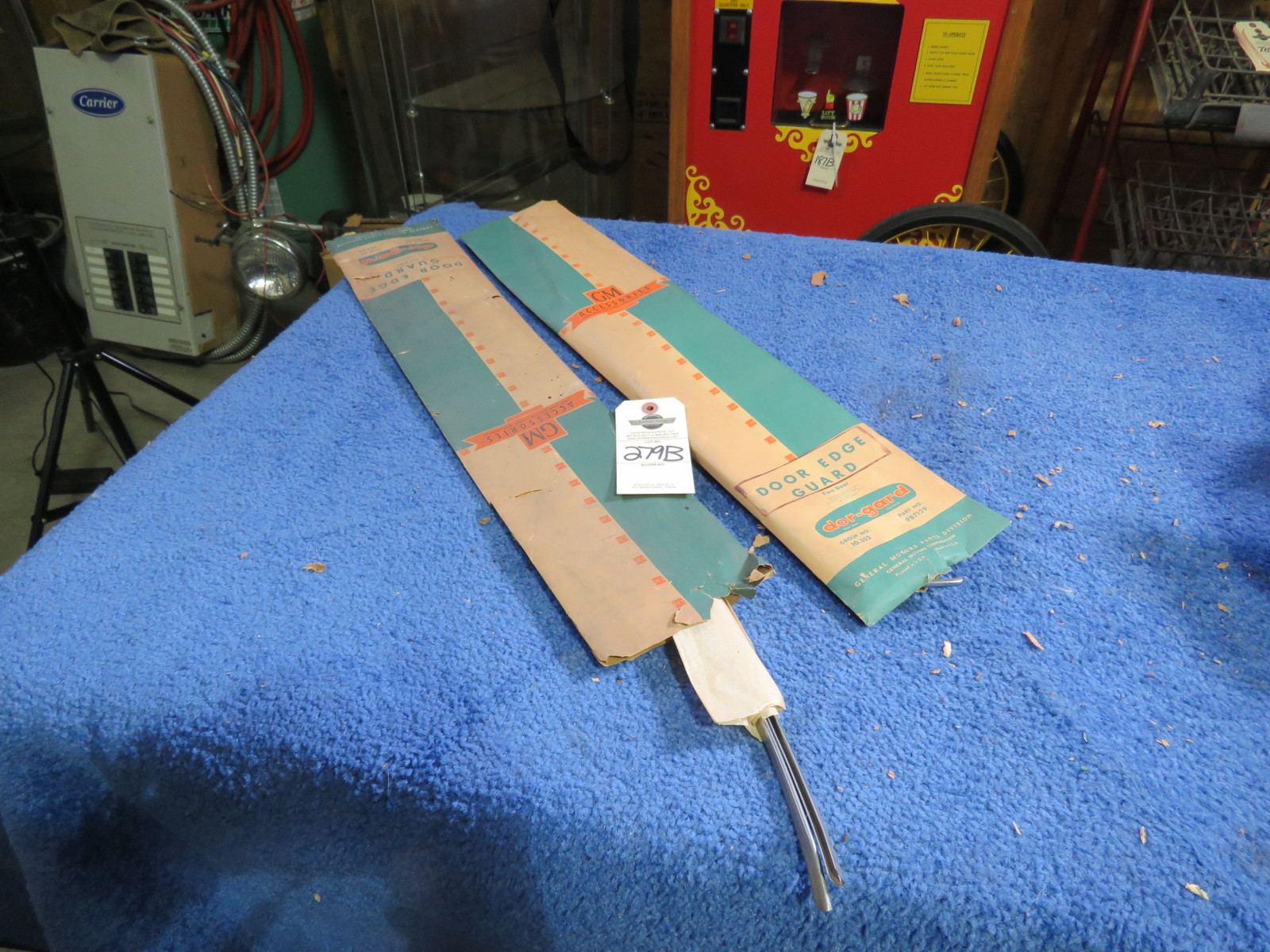 1956 Chevrolet Door guards NIB - Image 1