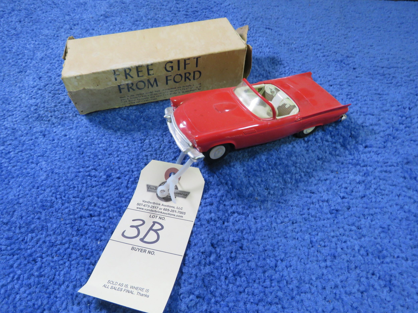 AMT 1956 Thunderbird Promotional Model NIB - Image 1
