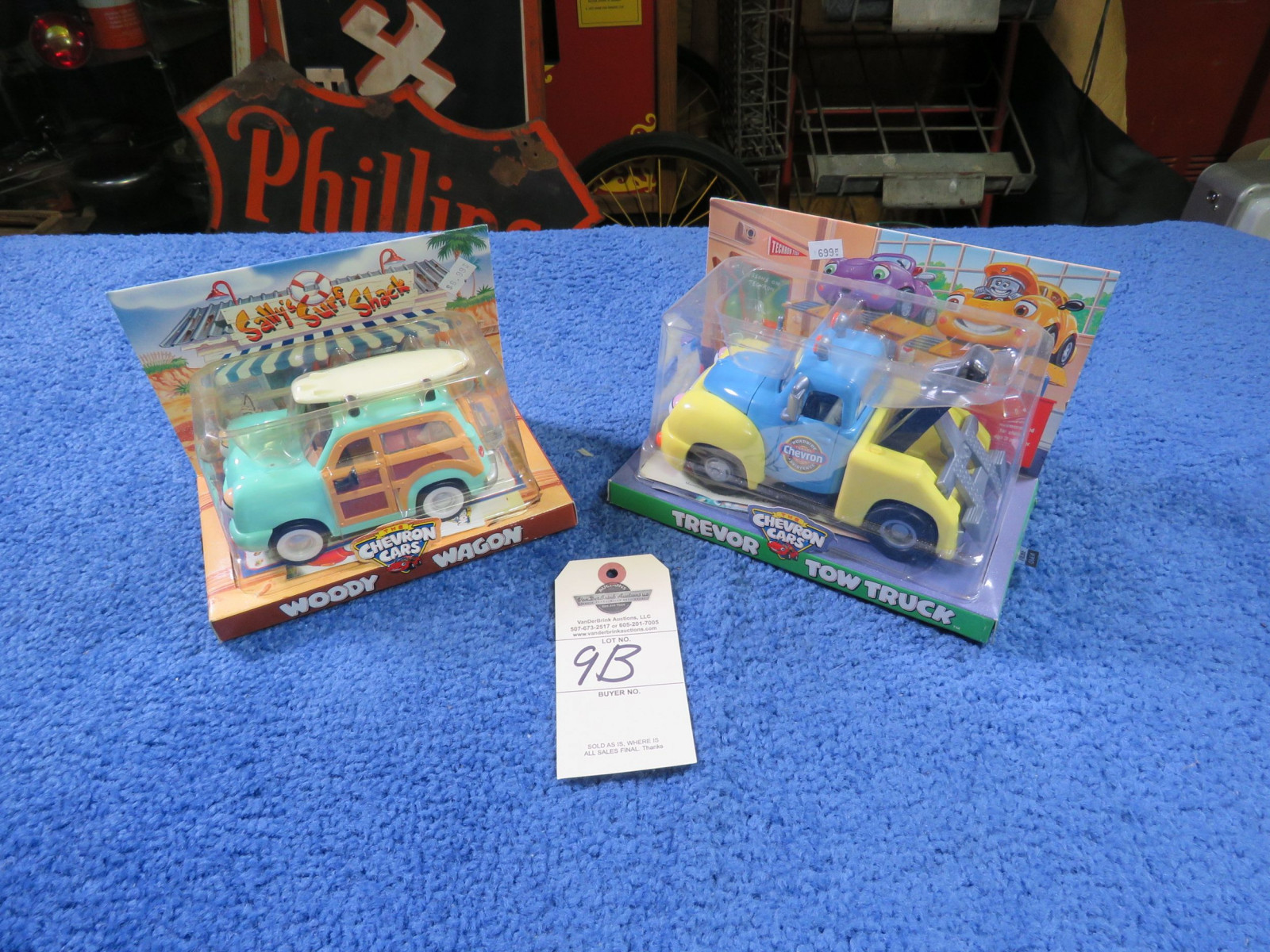 Chevron Toy Cars - Image 1