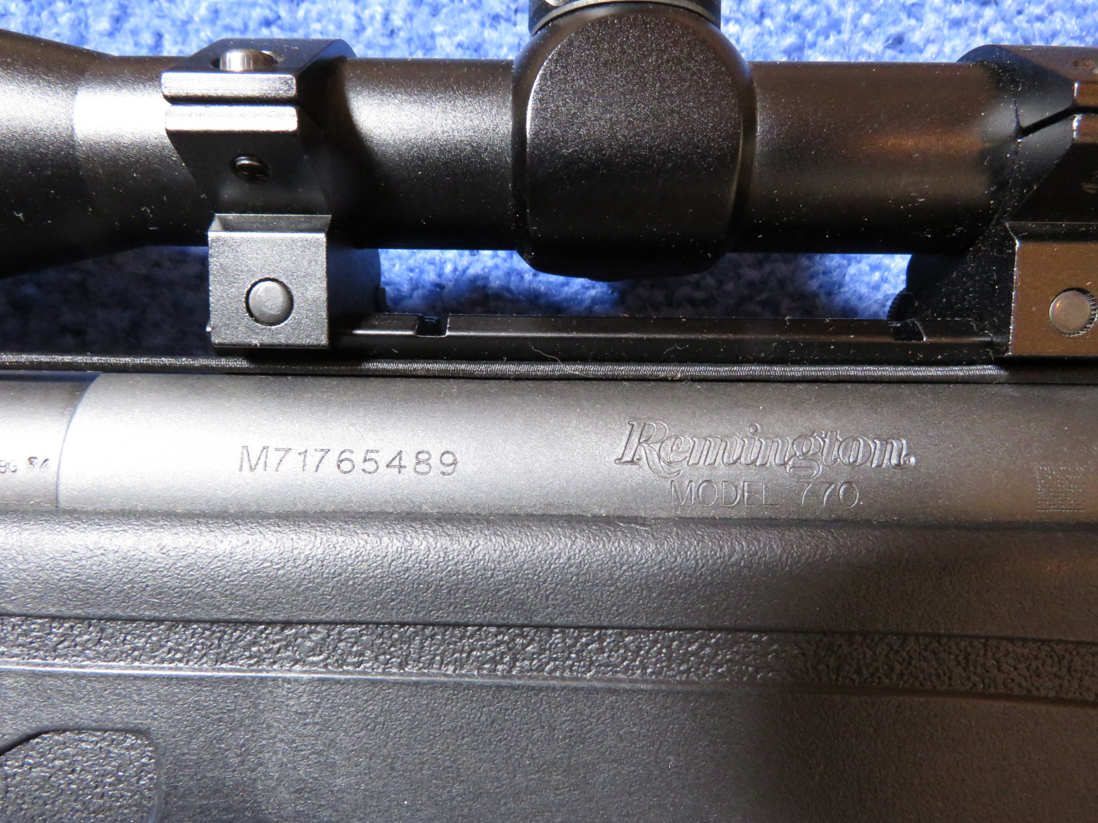 Remington Model 770 Bolt Action Rifle M71765489 - Image 3