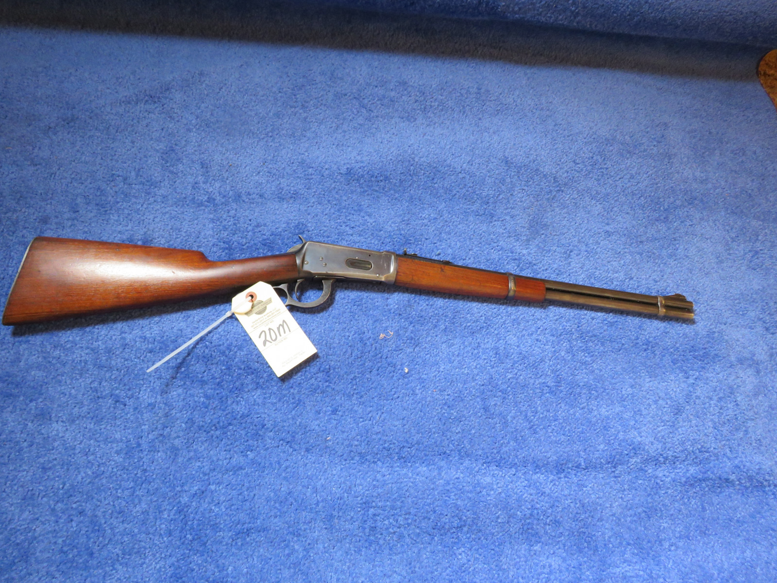 1941 Winchester Model 94 Lever Action .30 WCF  Rifle - Image 1