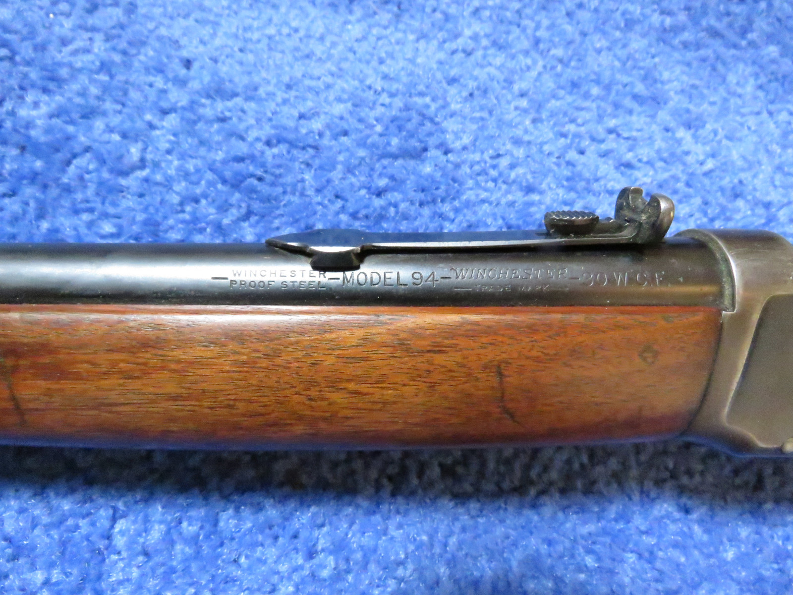 1941 Winchester Model 94 Lever Action .30 WCF  Rifle - Image 3