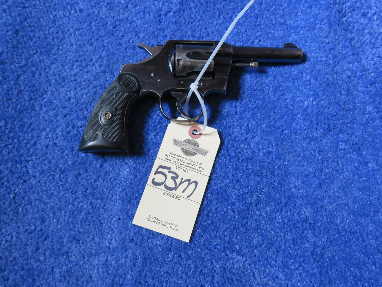 Colt Army Special .32 WCF Handgun - Image 2