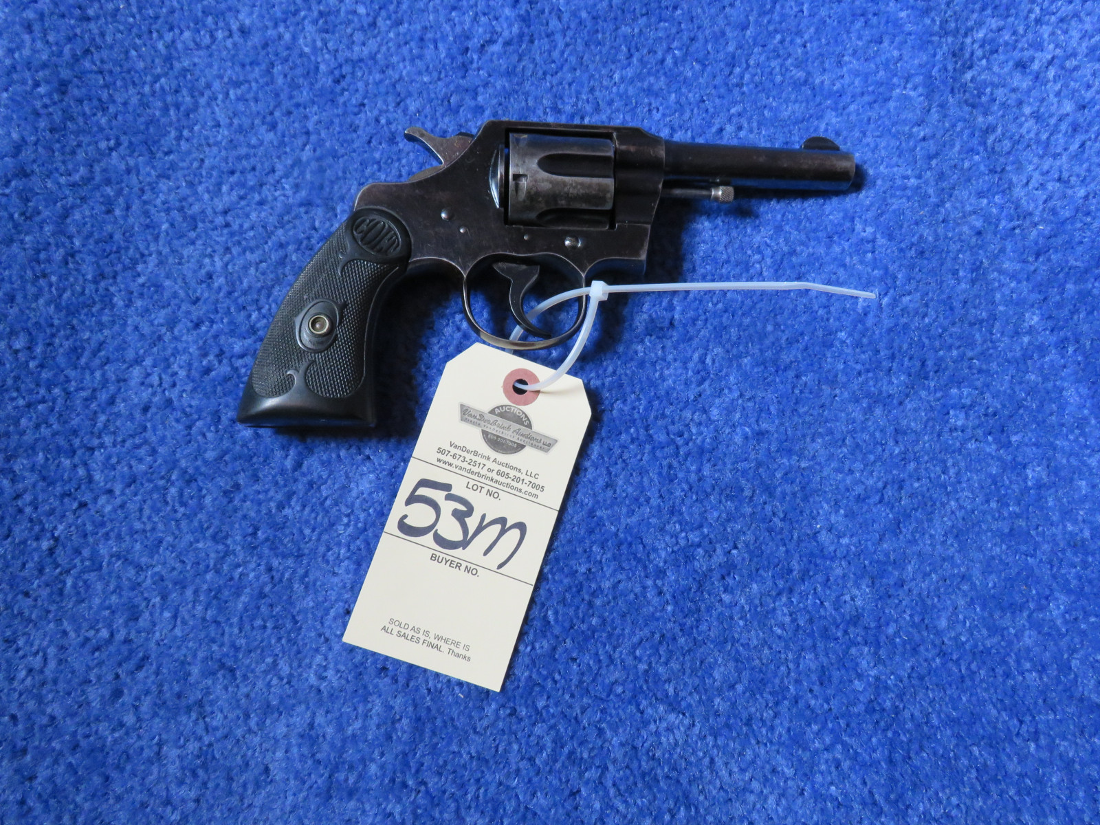 Colt Army Special .32 WCF Handgun - Image 3