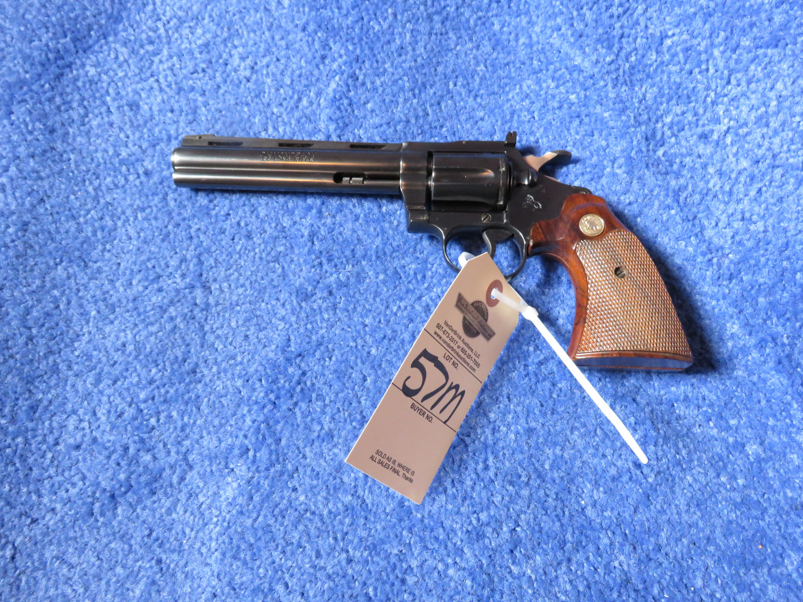 Colt Diamond Back .22 Revolver - Image 1
