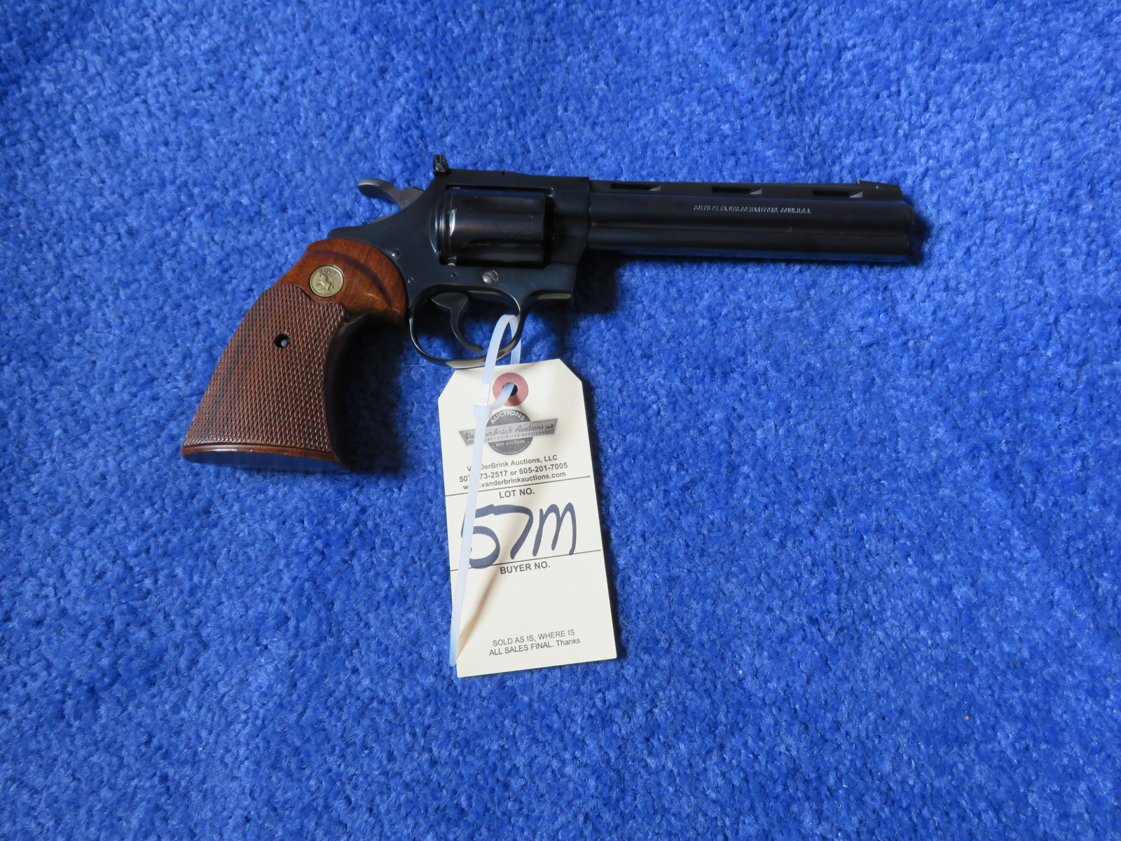 Colt Diamond Back .22 Revolver - Image 2
