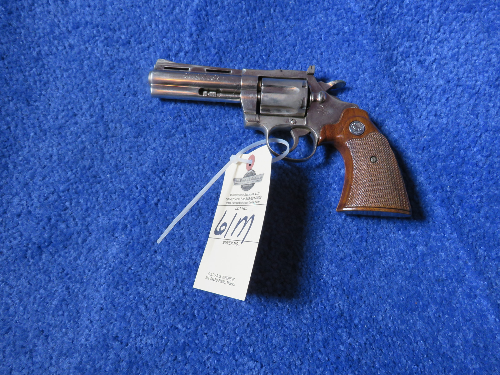 Colt Diamond Back .38 Special CTG Handgun - Image 1
