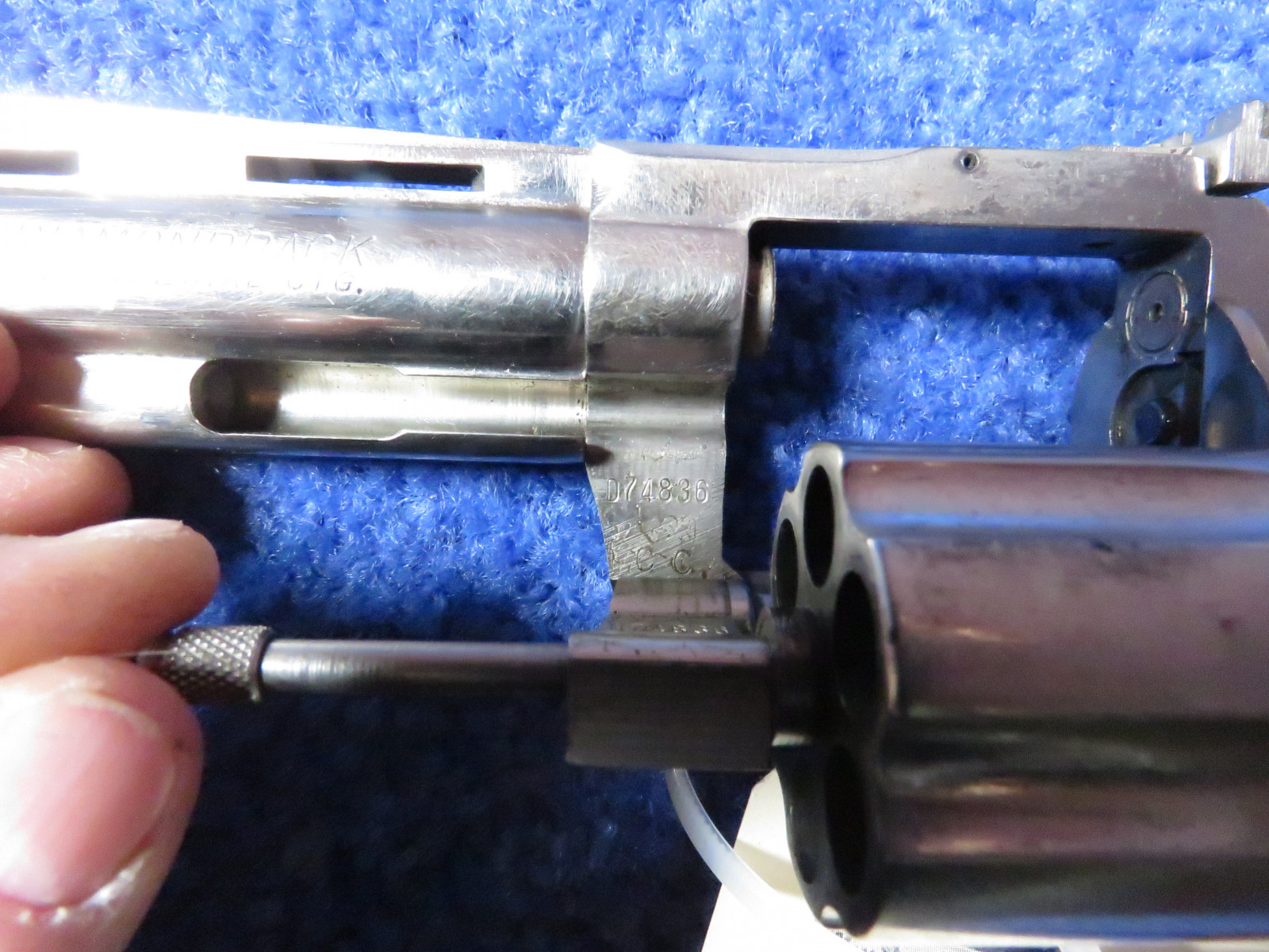 Colt Diamond Back .38 Special CTG Handgun - Image 4