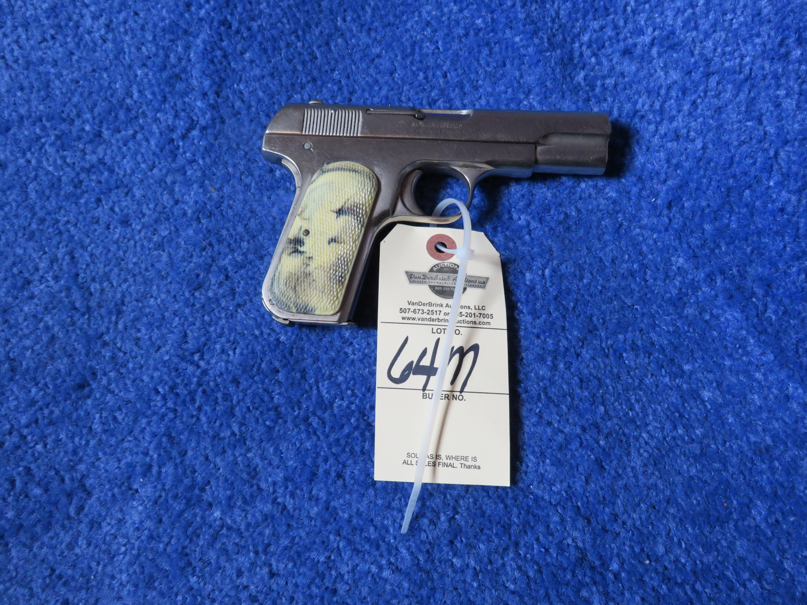 Colt Pocket Positive .32 Cal Semi-Auto Handgun - Image 1