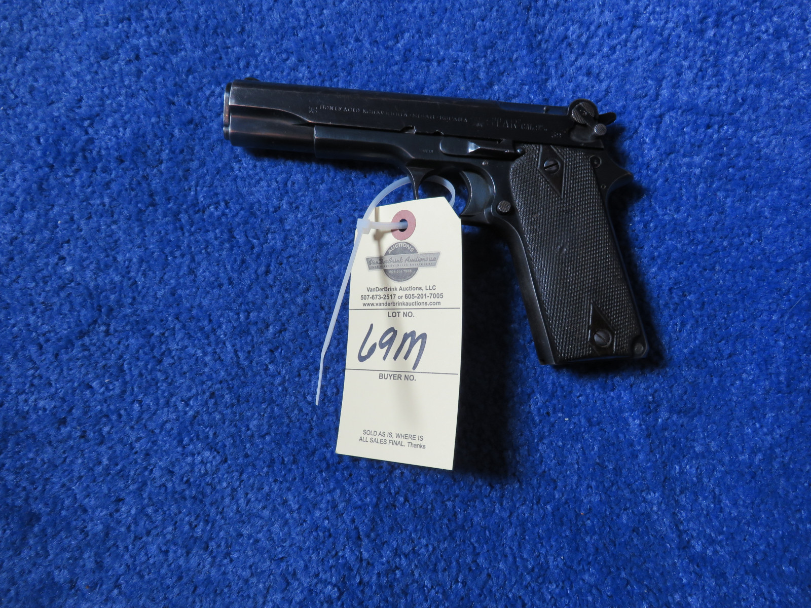 1921 Bonifacio Star 9MM Semi-Automatic Handgun - Image 2