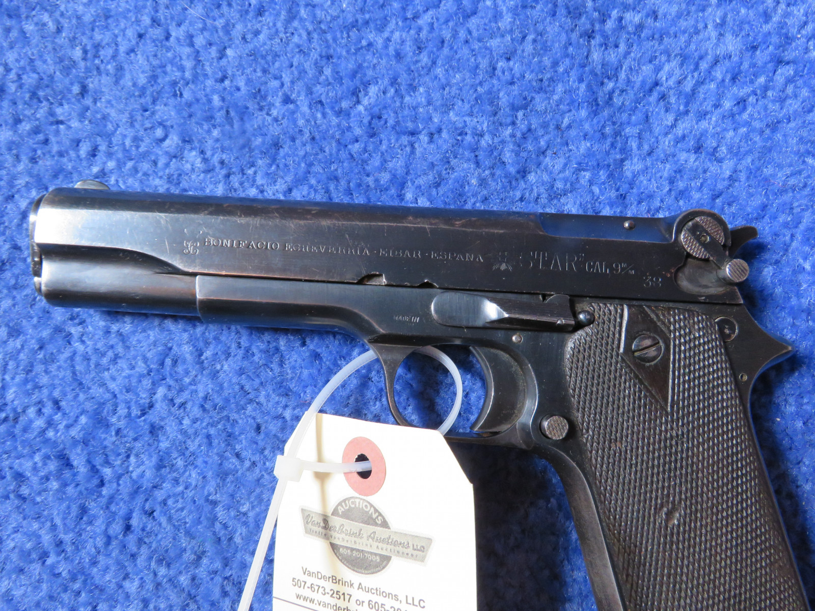 1921 Bonifacio Star 9MM Semi-Automatic Handgun - Image 3
