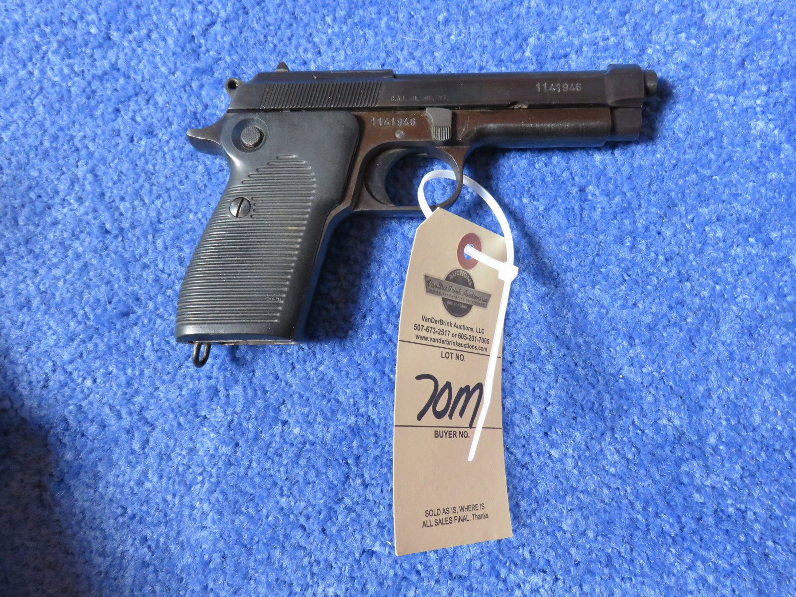 Helwan 9MM Semi-Auto Handgun - Image 3