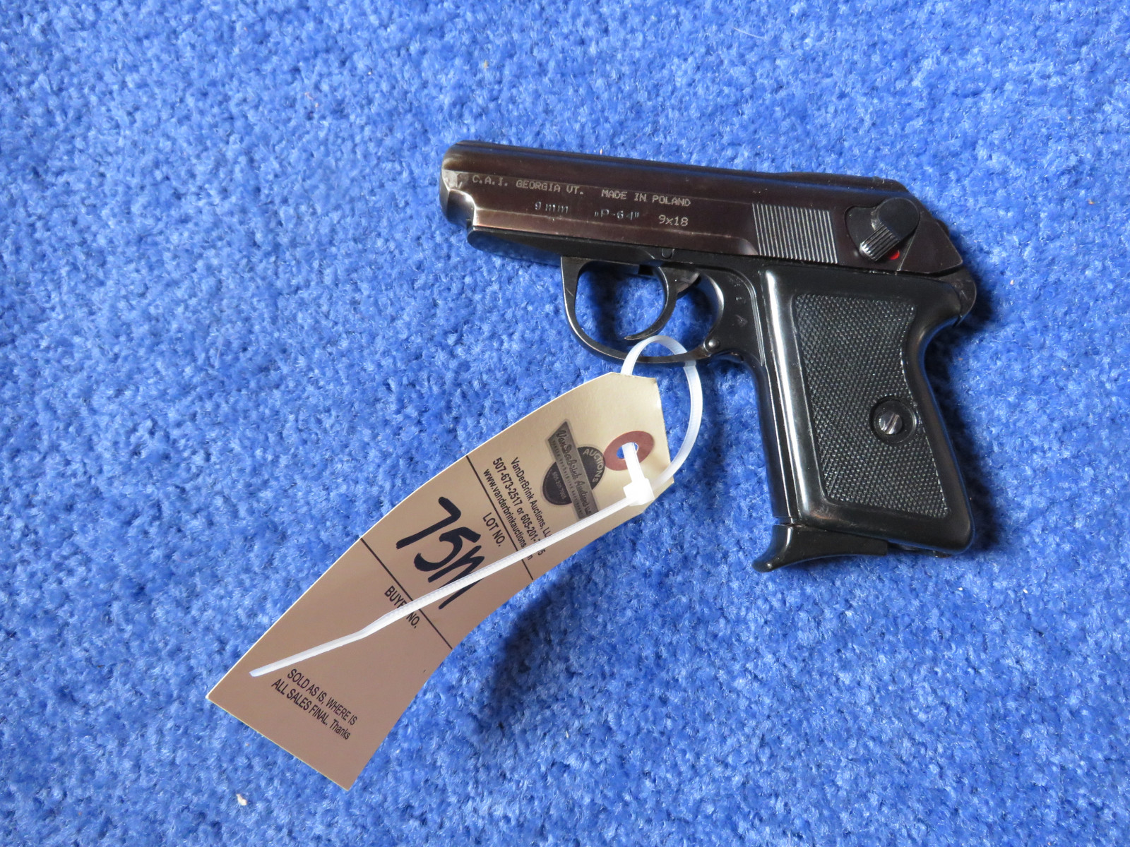 CAI P-64  9mm handgun - Image 2