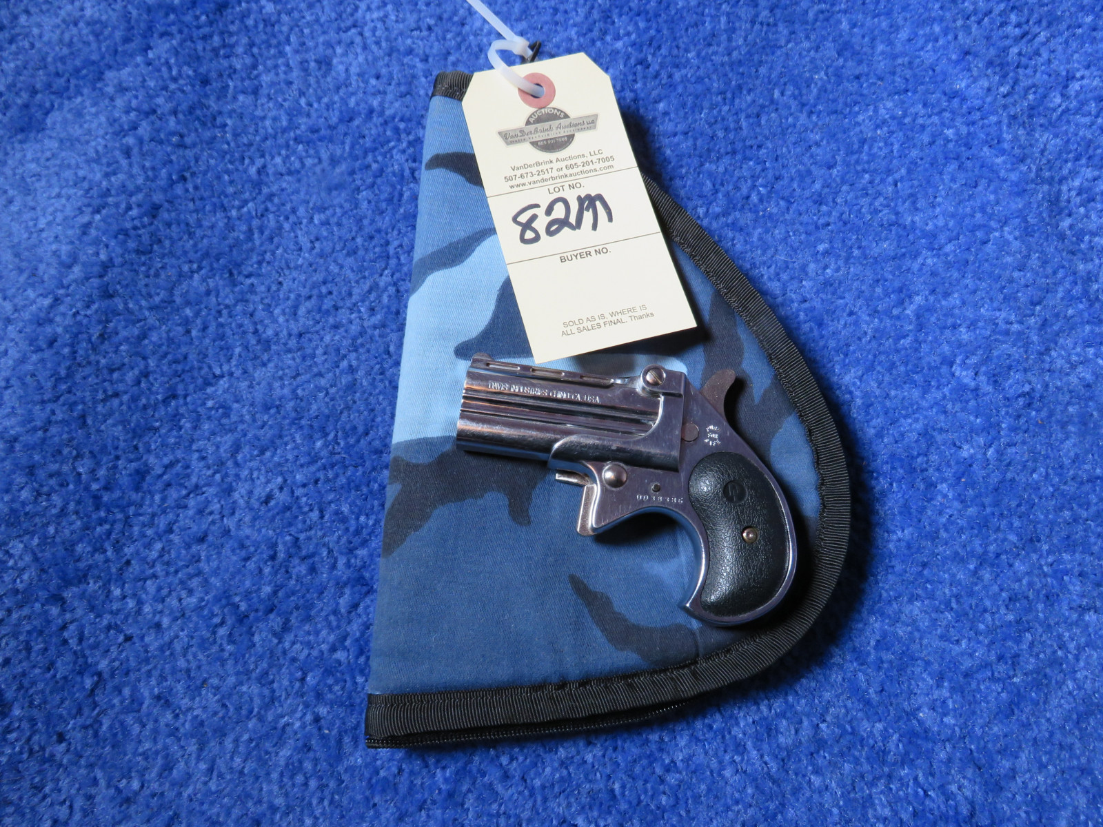 Davis Industries Model D38  .38 Special Handgun - Image 3
