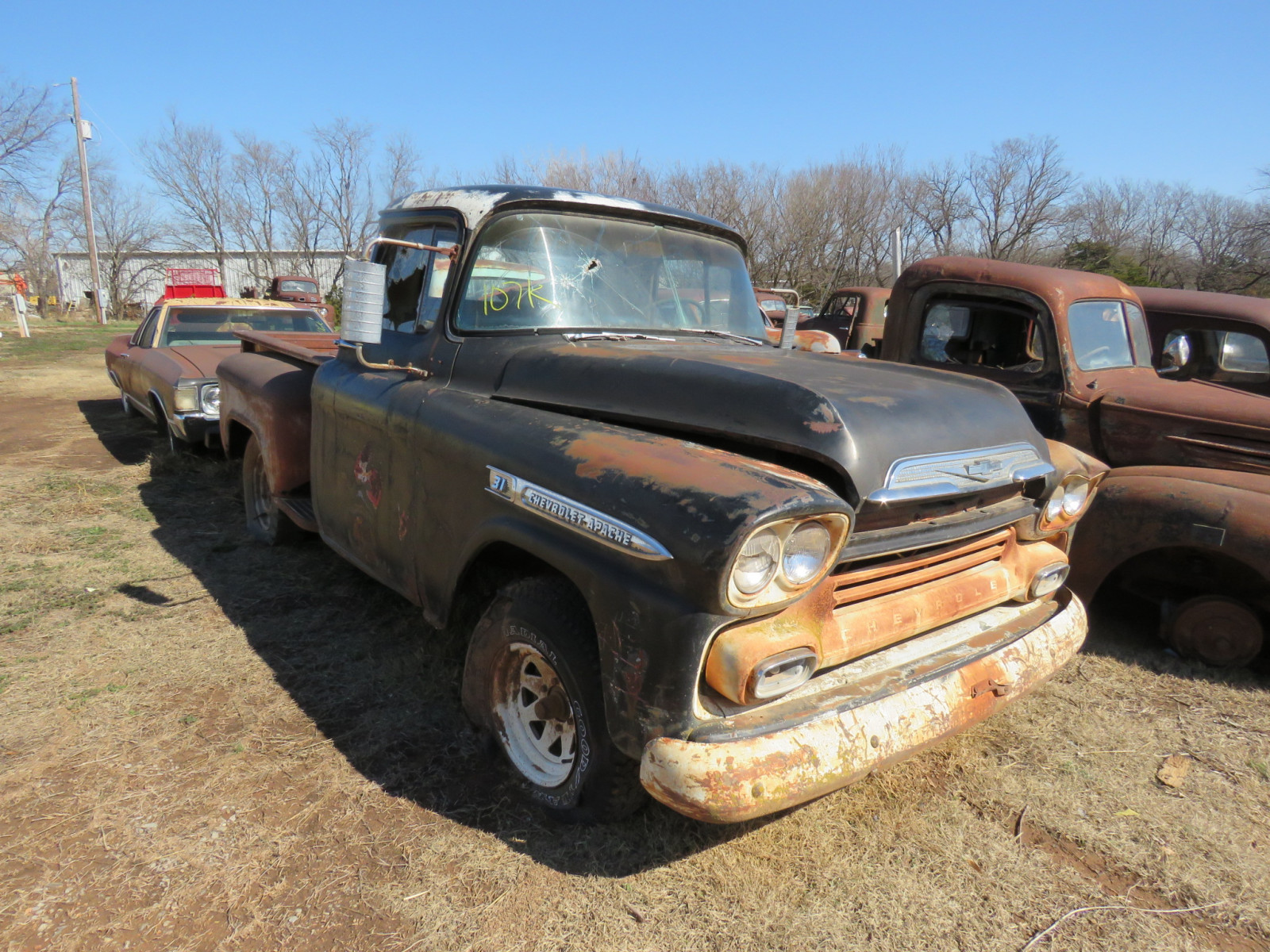 1959 Chevrolet 3100 Series Stepside Pickup - Image 1