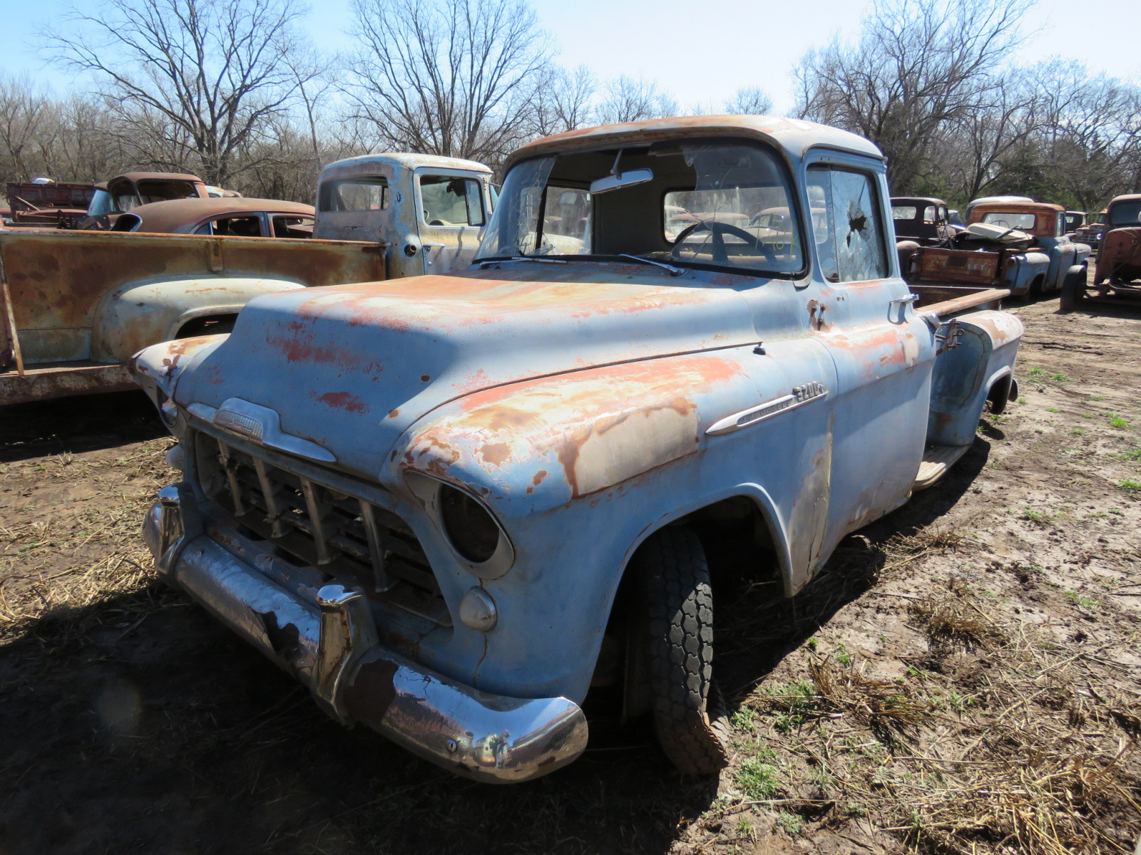 1956 Chevrolet Stepside Pickup - Image 1