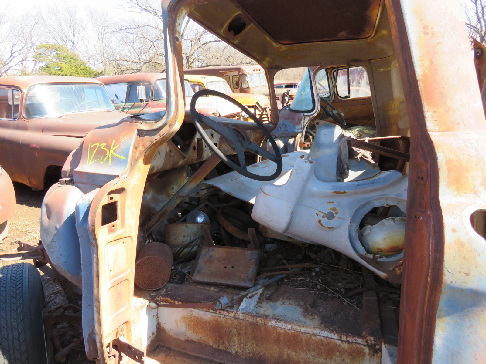 1950's Chevrolet Pickup for Parts - Image 3