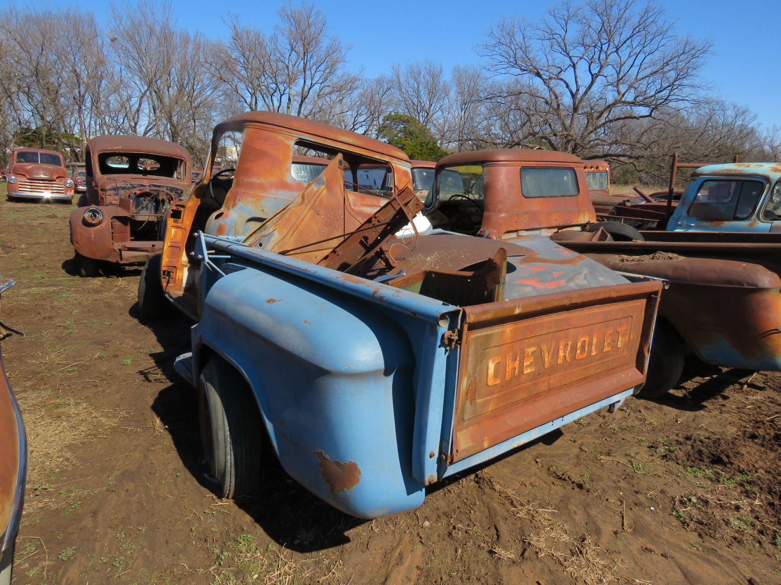 1950's Chevrolet Pickup for Parts - Image 4