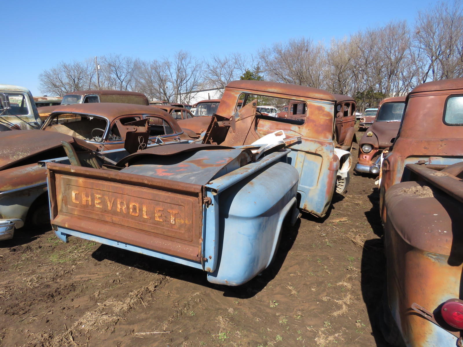 1950's Chevrolet Pickup for Parts - Image 5
