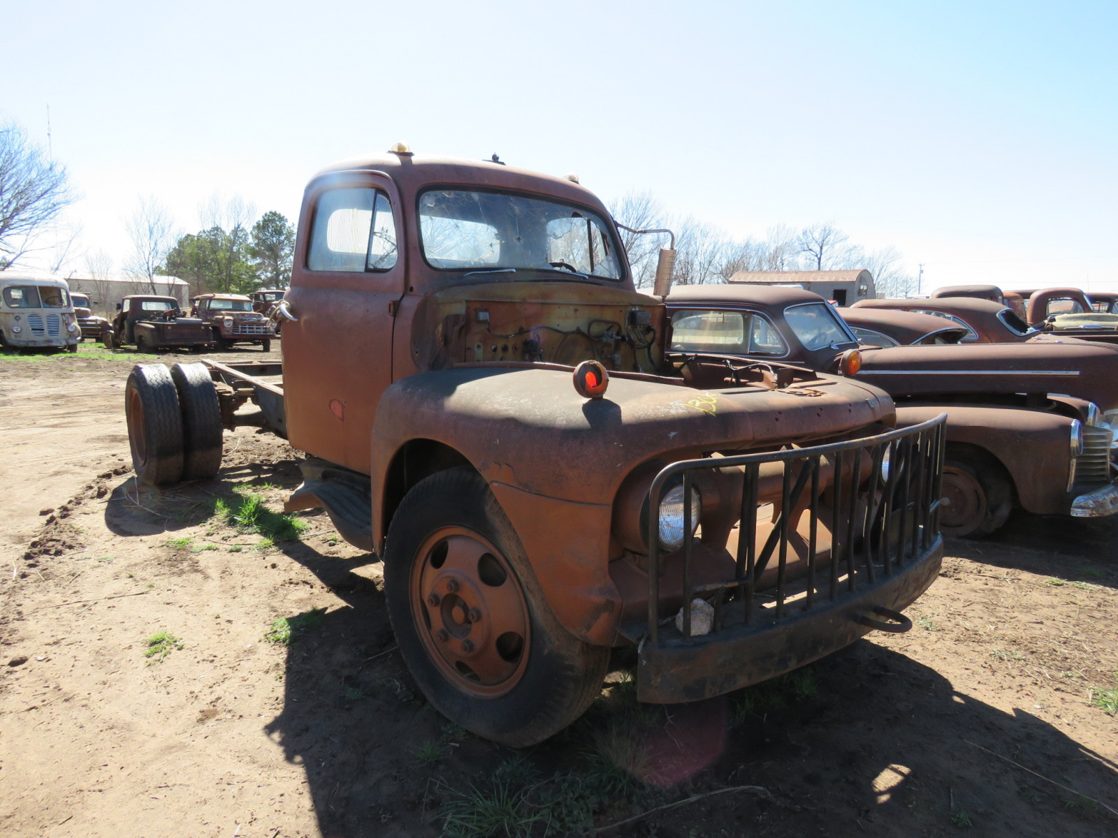 1950's Ford Truck for PARTS - Image 1