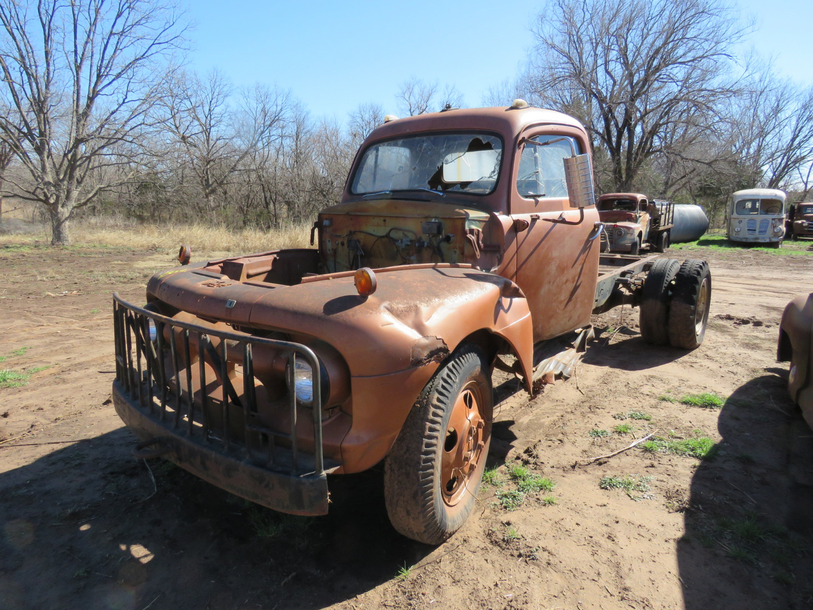 1950's Ford Truck for PARTS - Image 2