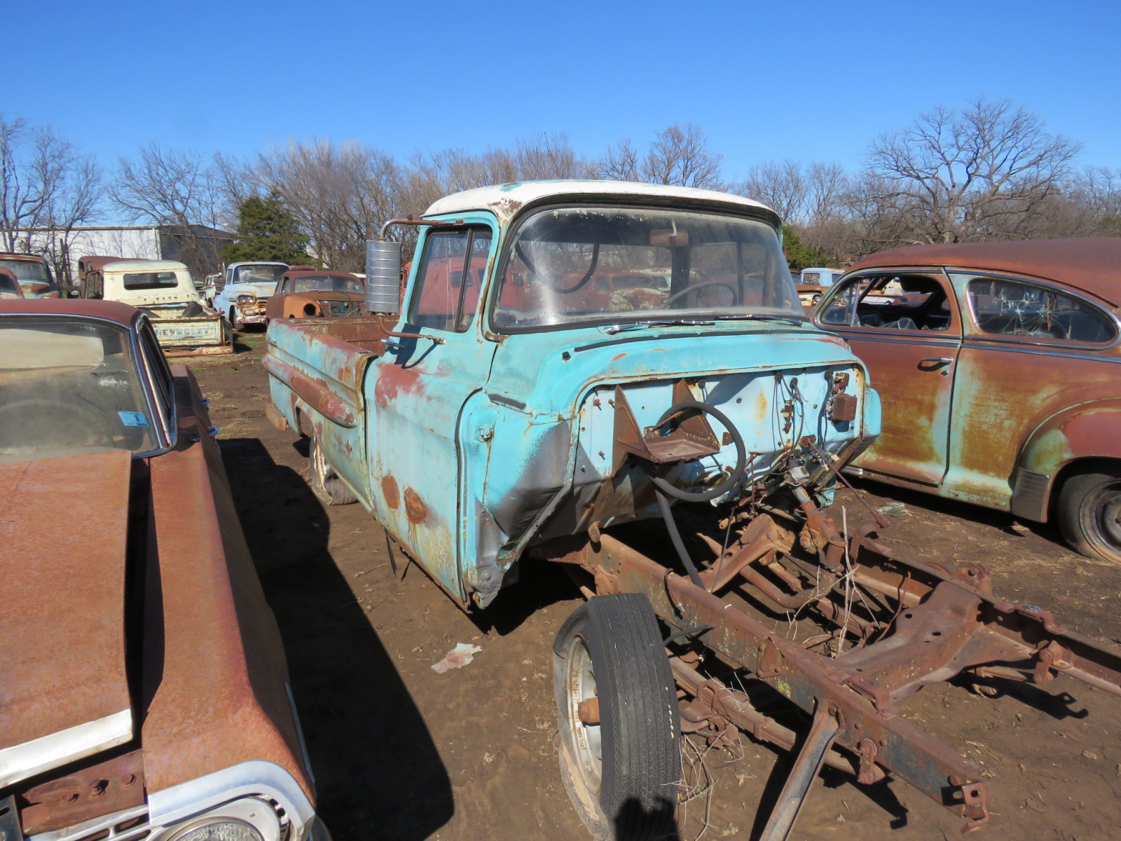1950's Chevrolet Pickup for Parts - Image 2