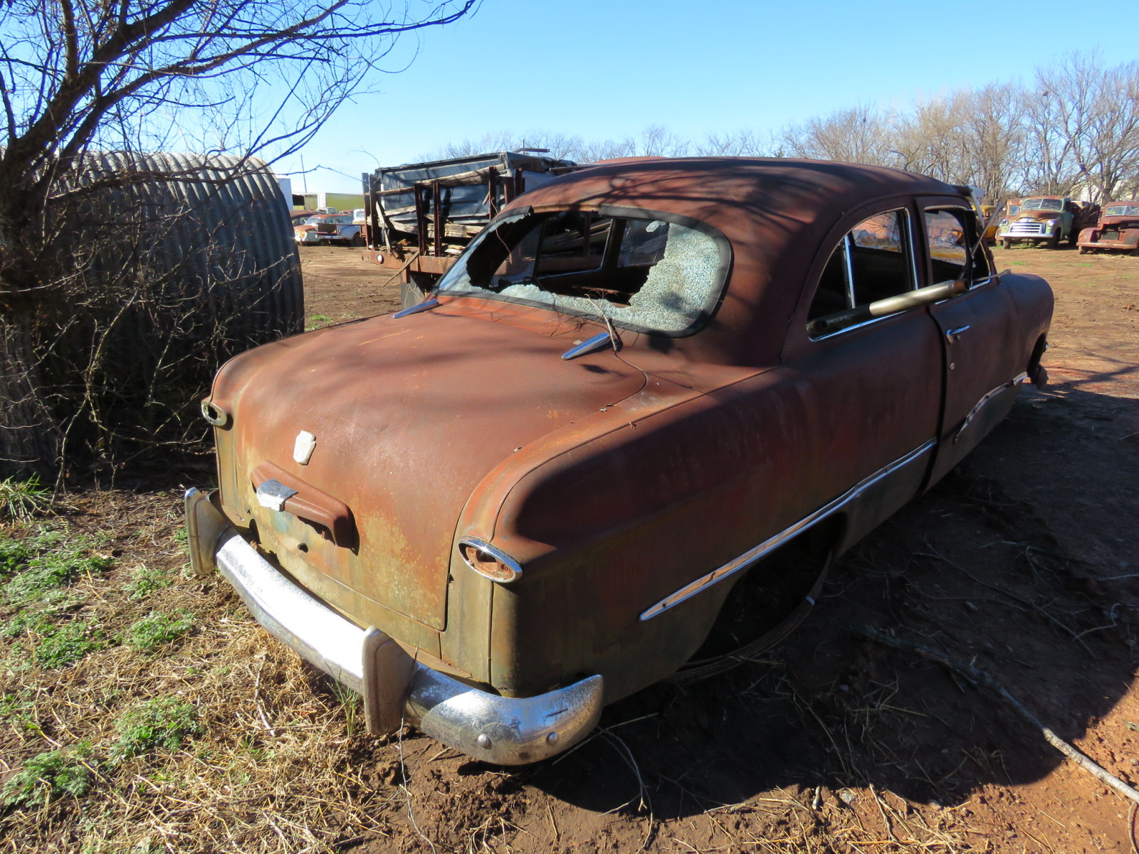 1949/50 Ford 2dr Sedan for parts - Image 3