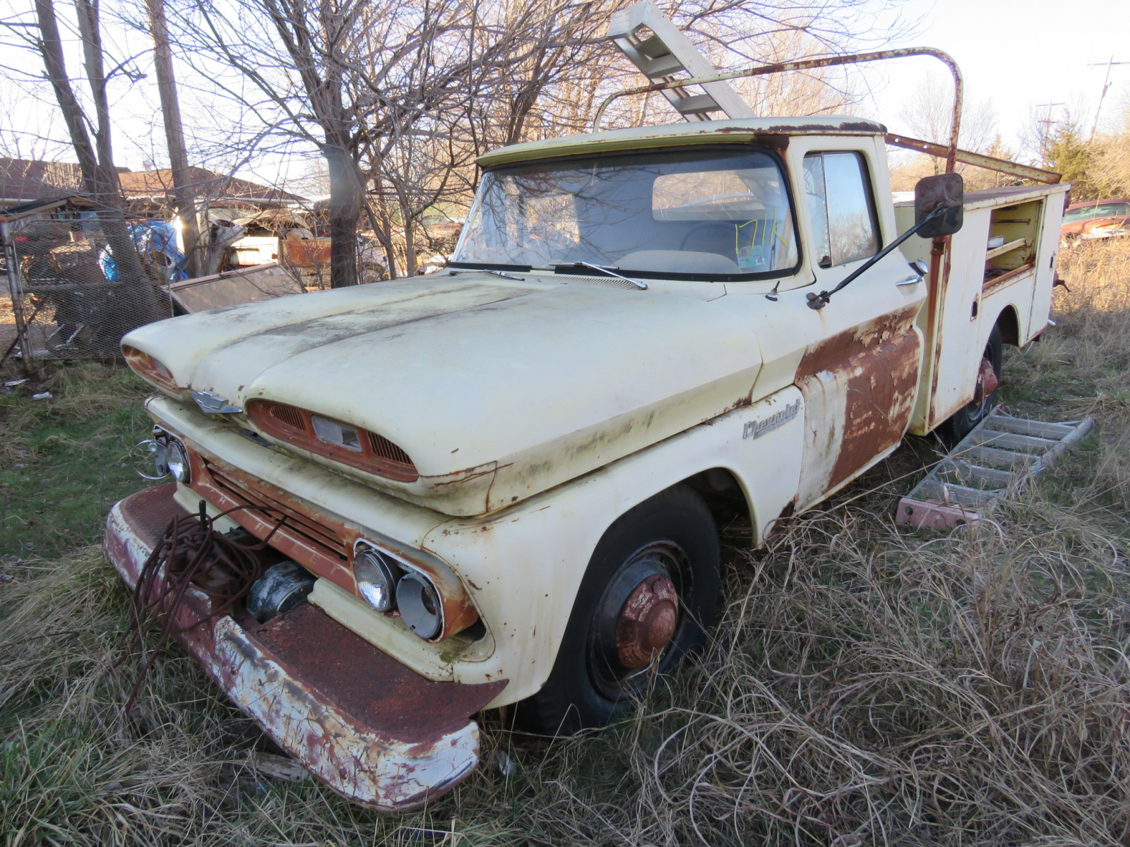 Chevrolet Pickup with Utility Box - Image 1
