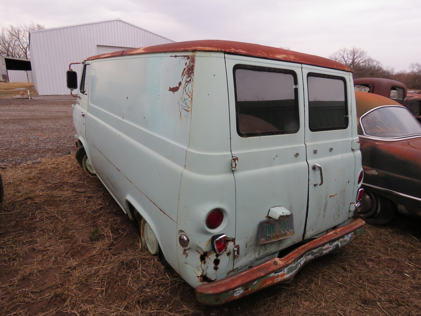 1961 Ford Econoline Pickup E14TH398334 - Image 3