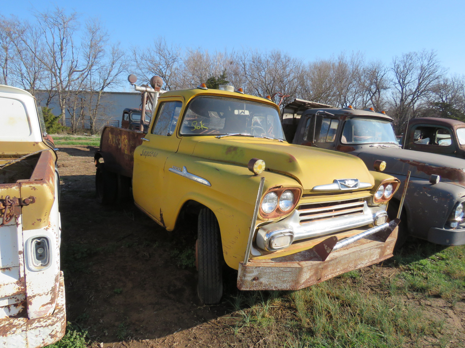 1958 Chevrolet Apache Tow Truck - Image 1