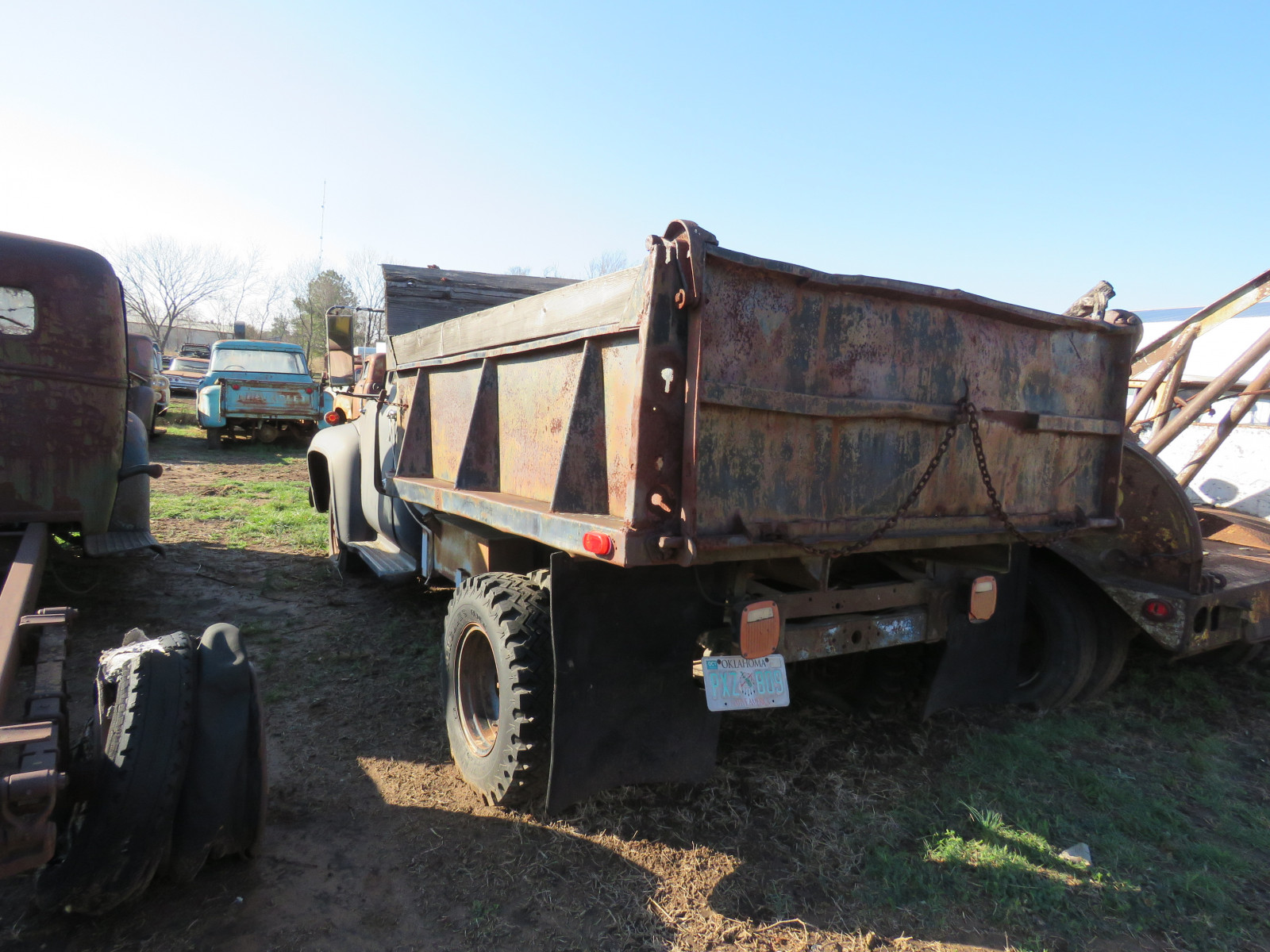 1953 Ford Dump Truck - Image 3