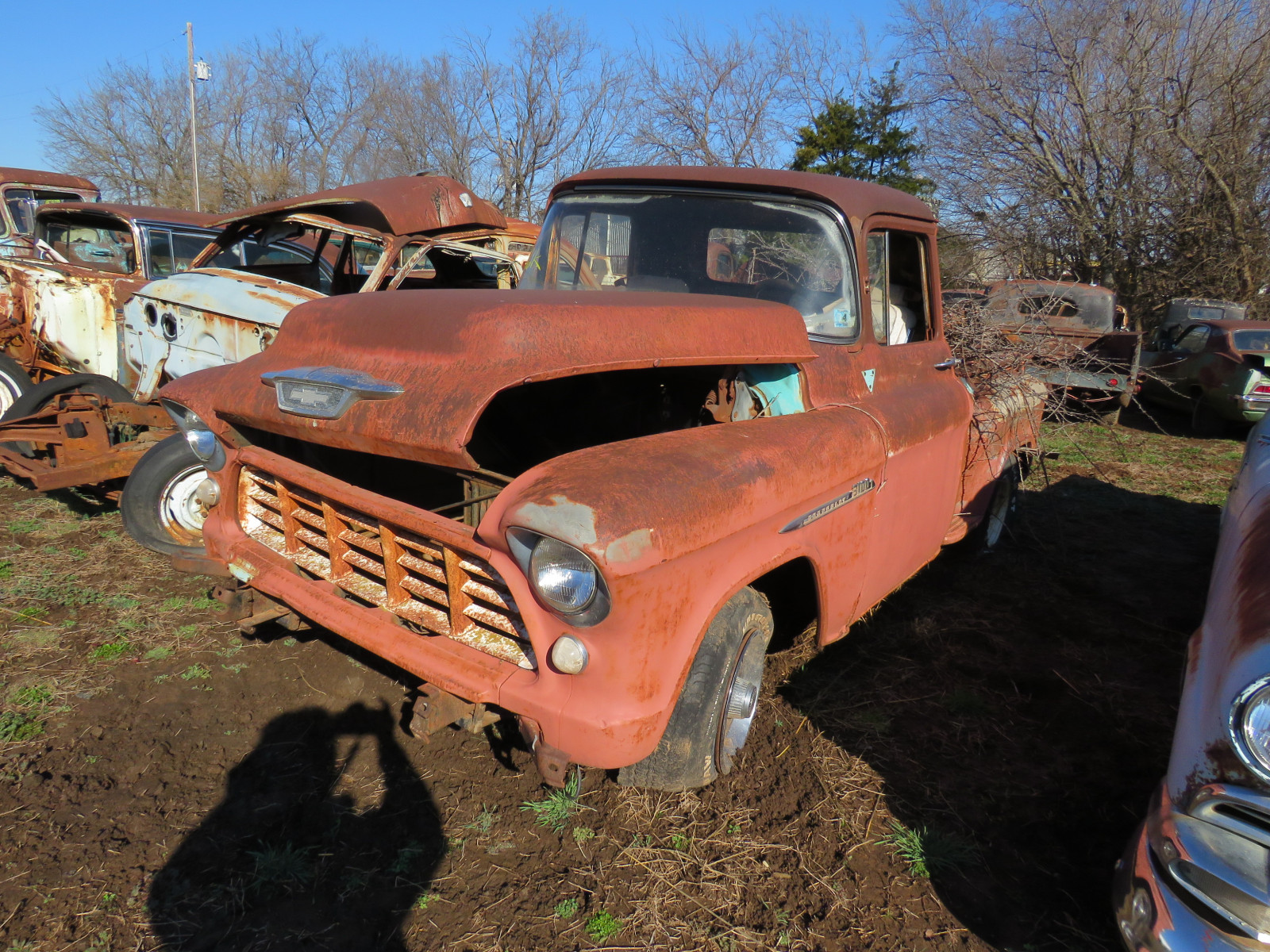 1955 Chevrolet Stepside Pickup - Image 2