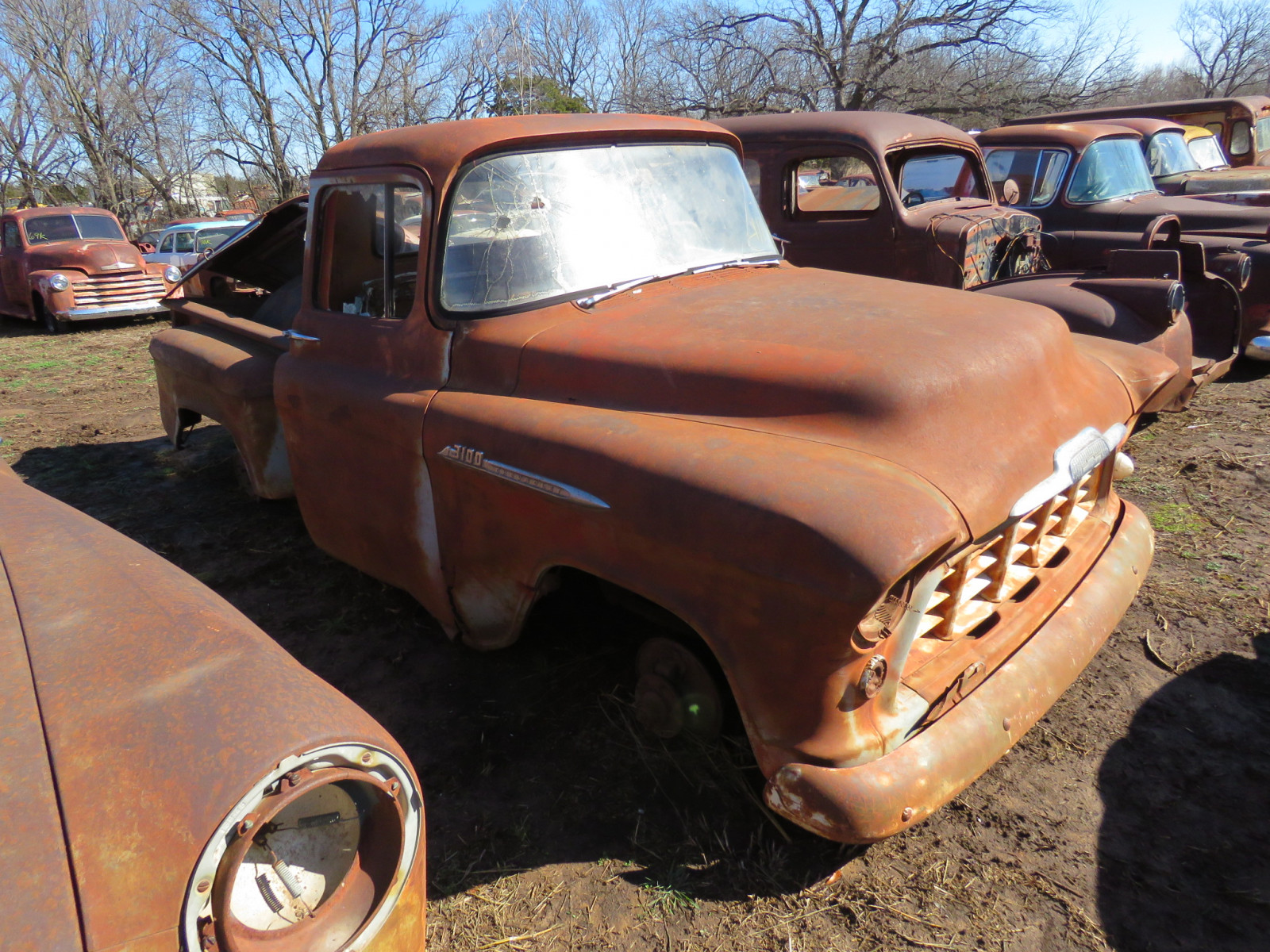 1955 Chevrolet 3100 Stepside Pickup - Image 2